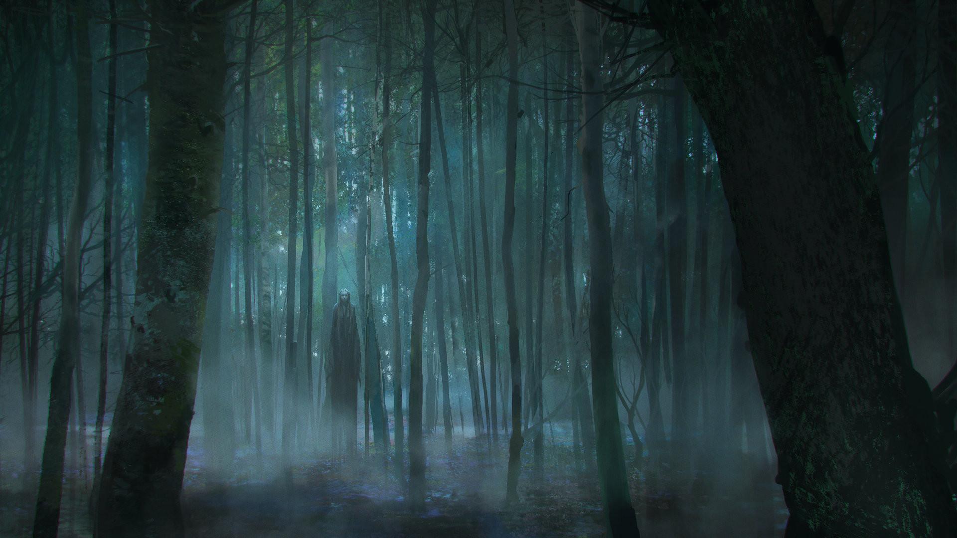 ArtStation – Scary Forest, Viktor Titov