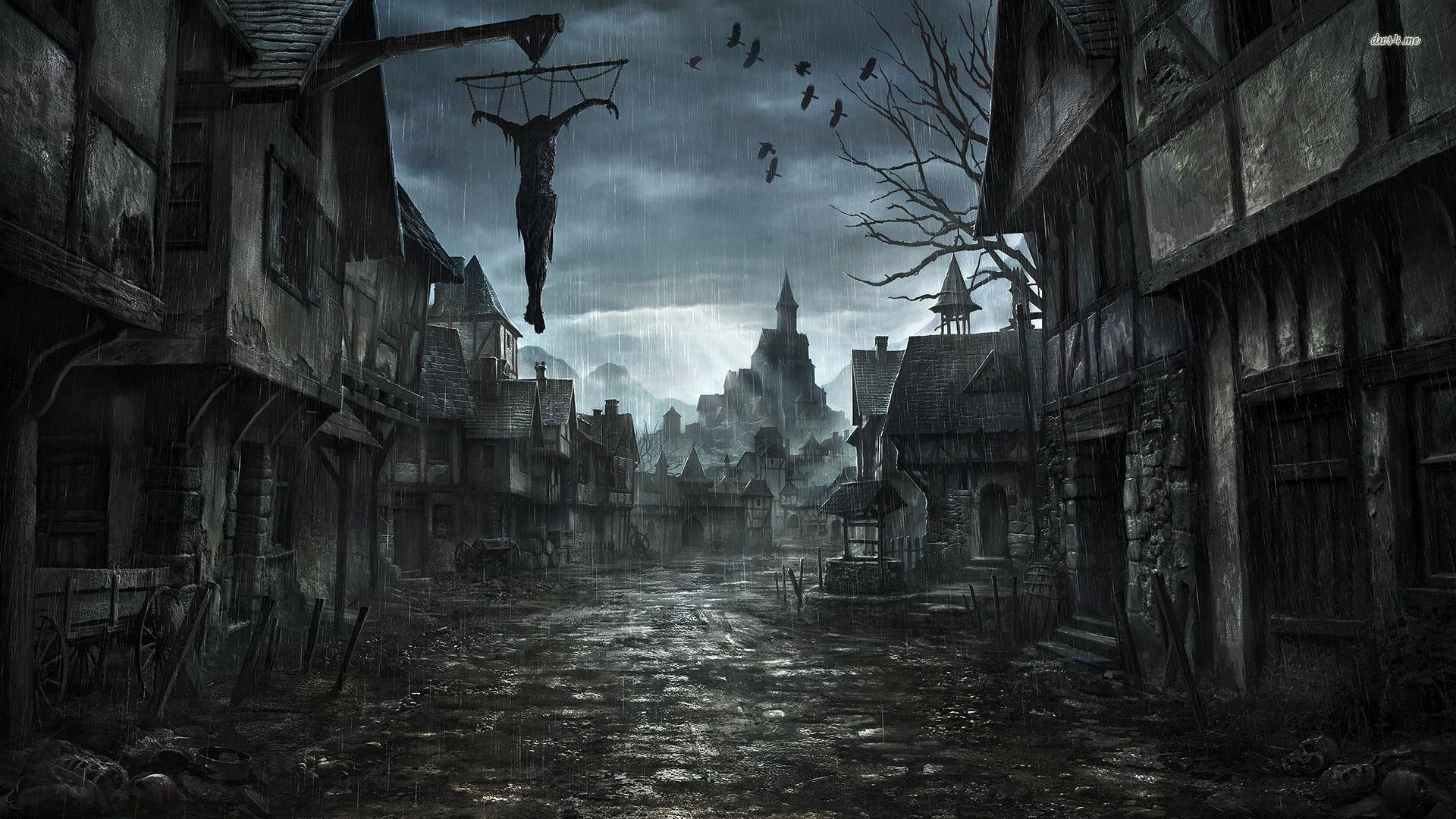 Scary Background · scary background free powerpoint background