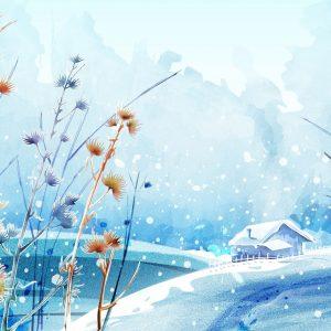 3D Winter Desktop