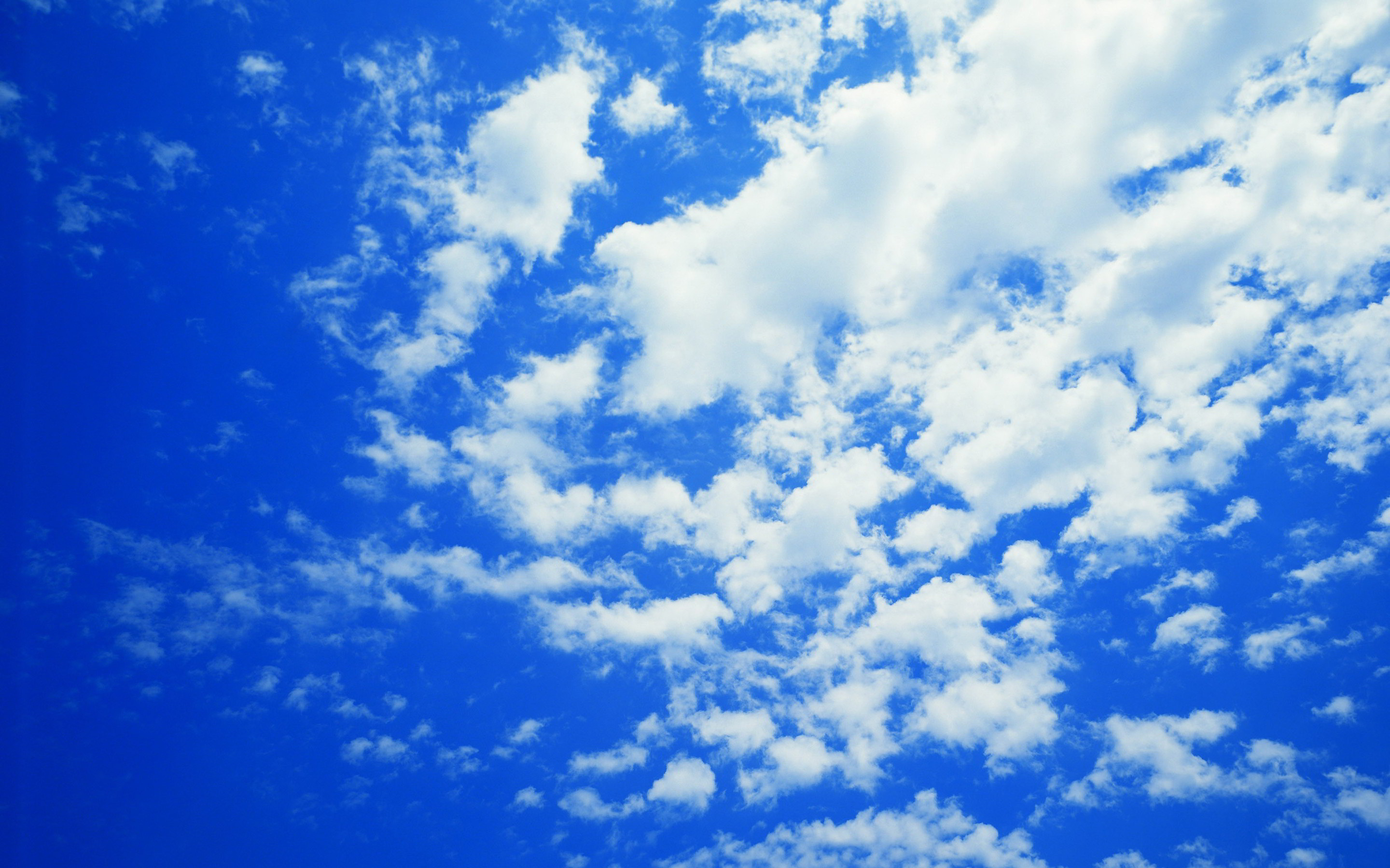 Blue Sky And Clouds Wallpaper