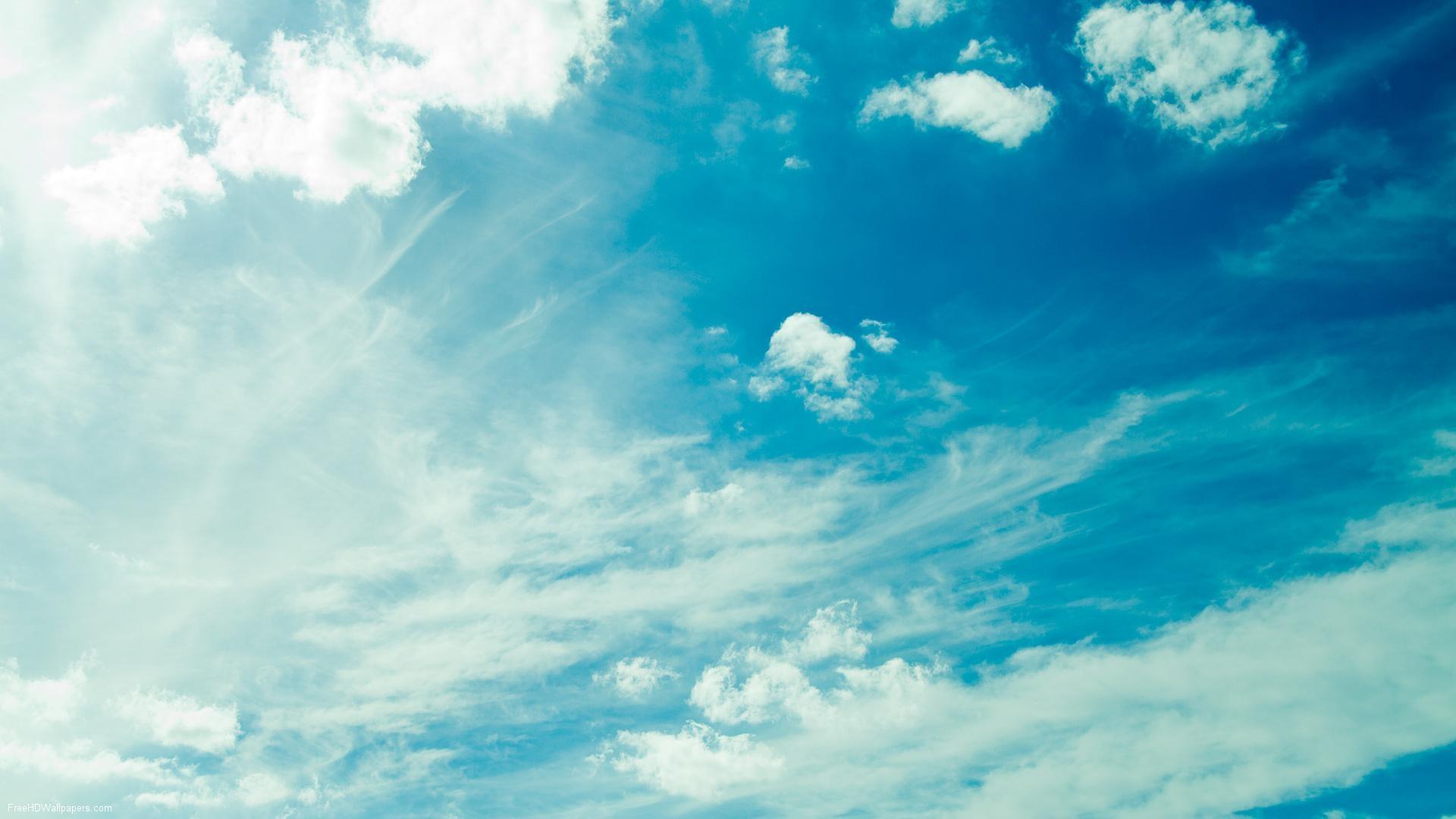 sky with clouds wallpaper. Â«Â«