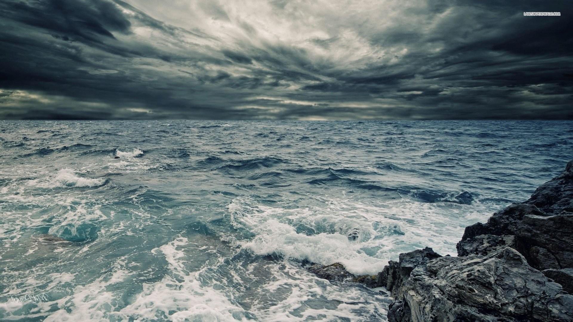 Stormy Sea Sky …