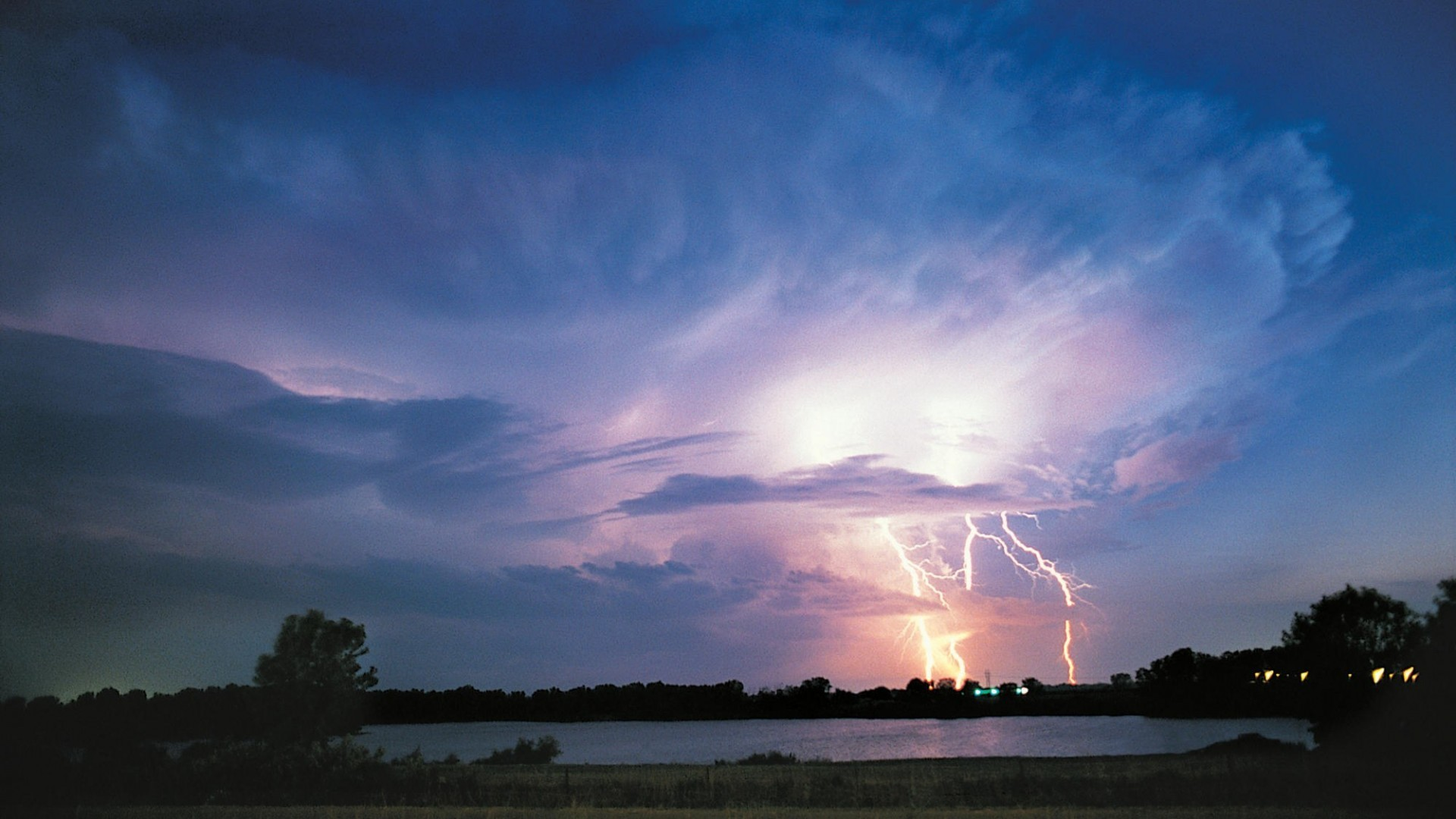 Stormy Skies Lightning.