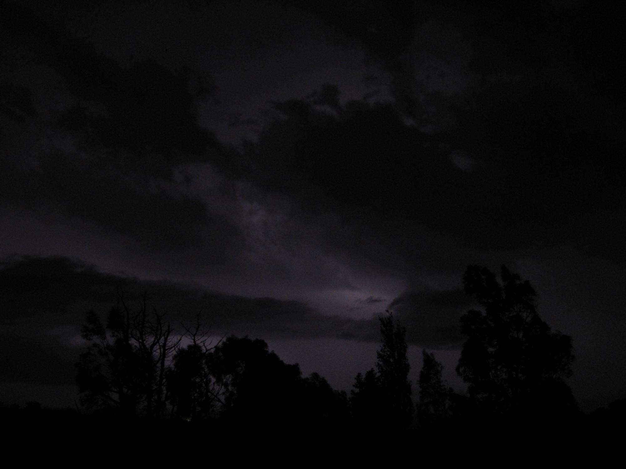 image Dark Stormy Night Sky PC, Android, iPhone and iPad. Wallpapers .