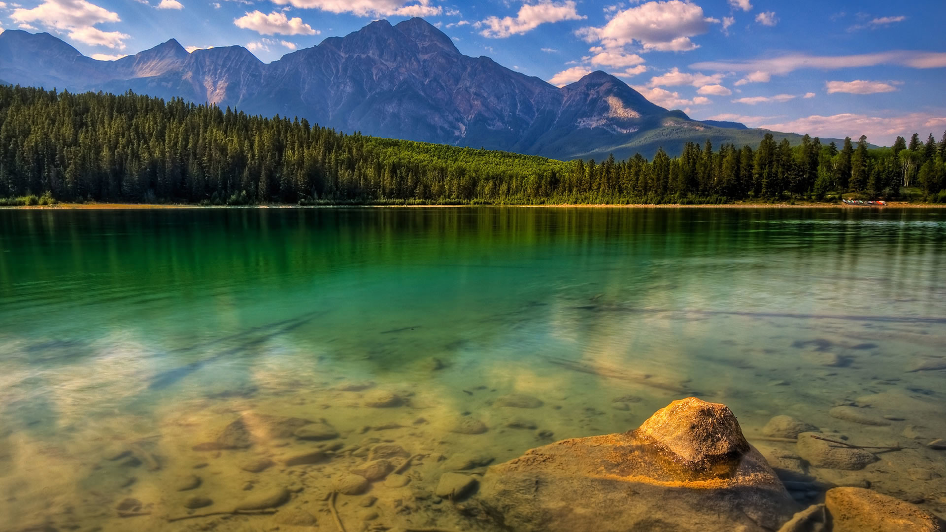 Mountain,Nature, Water, Forest, Clean wallpaper thumb
