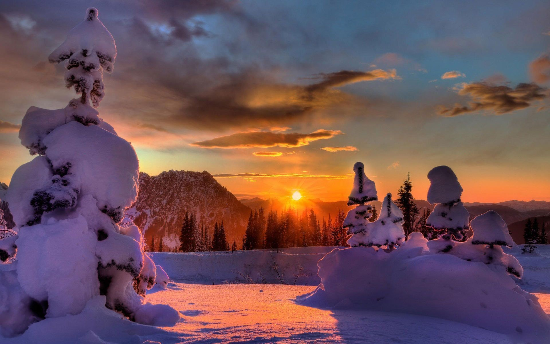 Winter Wallpapers HD, Desktop Backgrounds, Images and Pictures 1920×1200 Winter  Backgrounds For