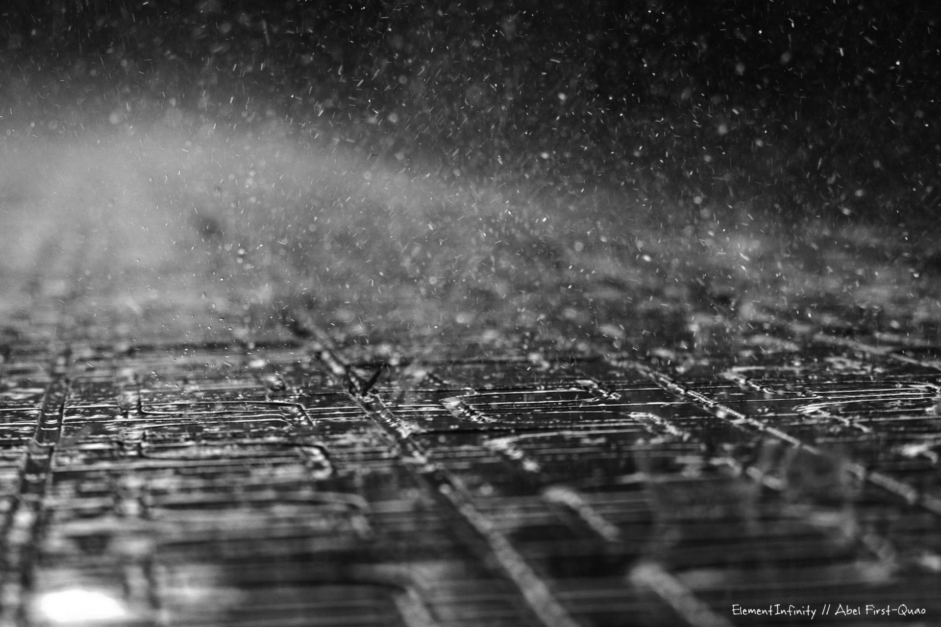 Sidewalk cobble rain storm wet mood wallpaper | | 34847 |  WallpaperUP