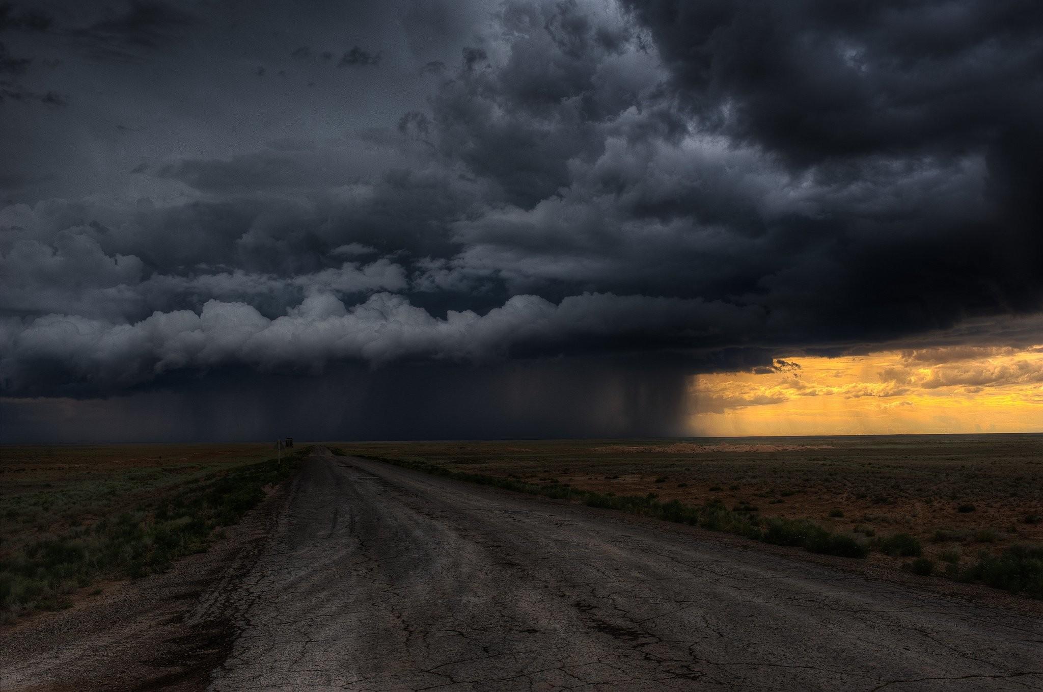 Road clouds field storm rain sky wallpaper | | 364872 .