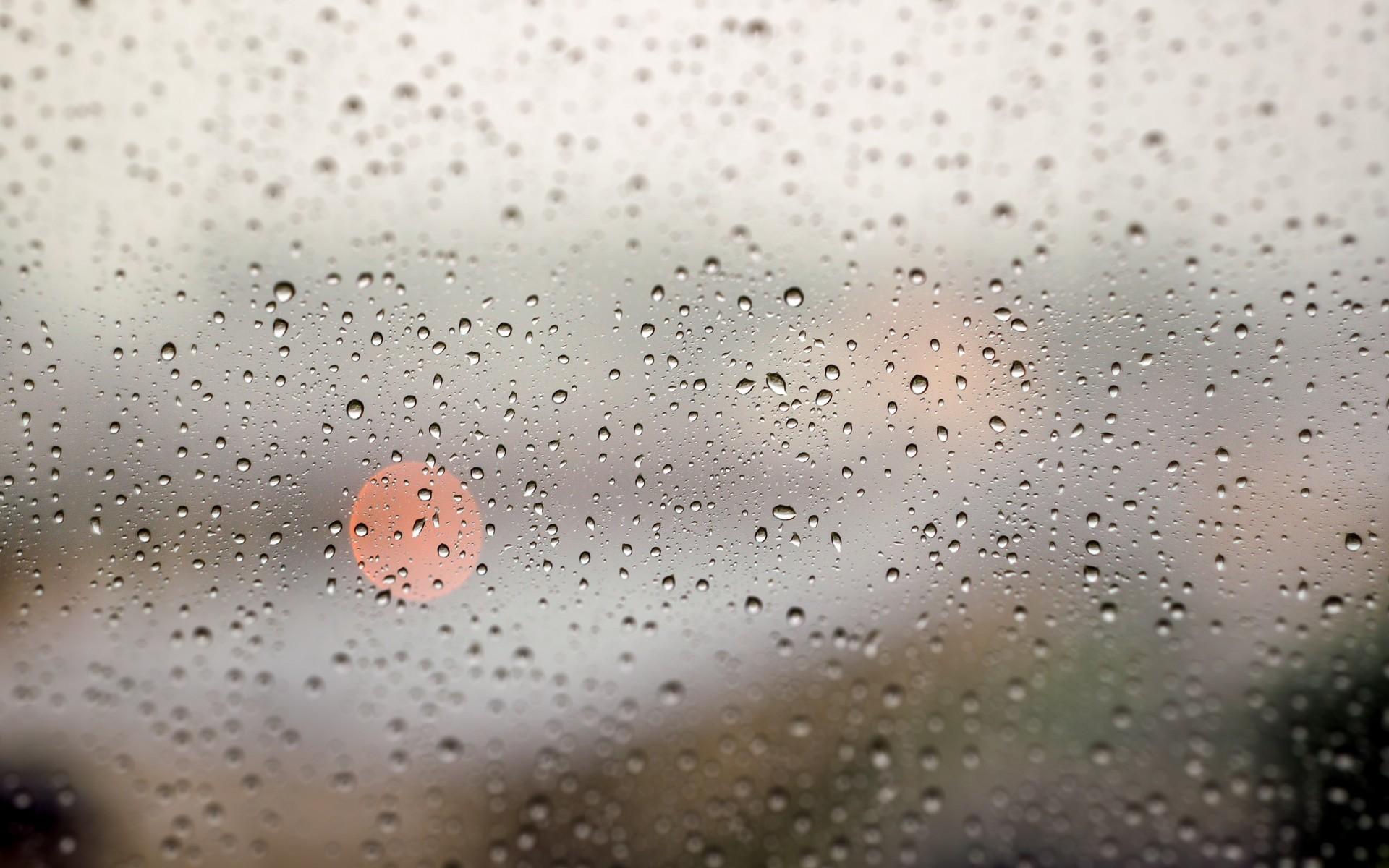 Glass window rain storm drops lights water wallpaper | .