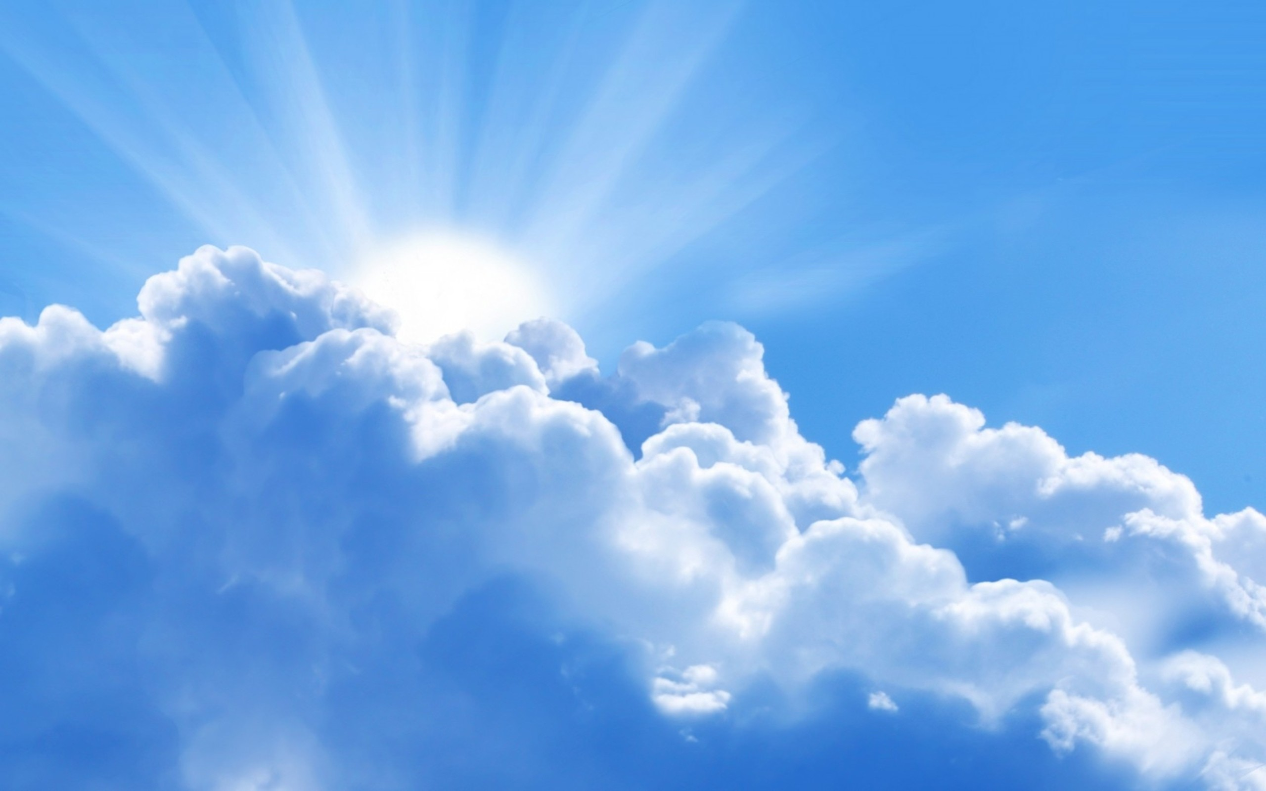 Clouds Blue Sky Background #1810