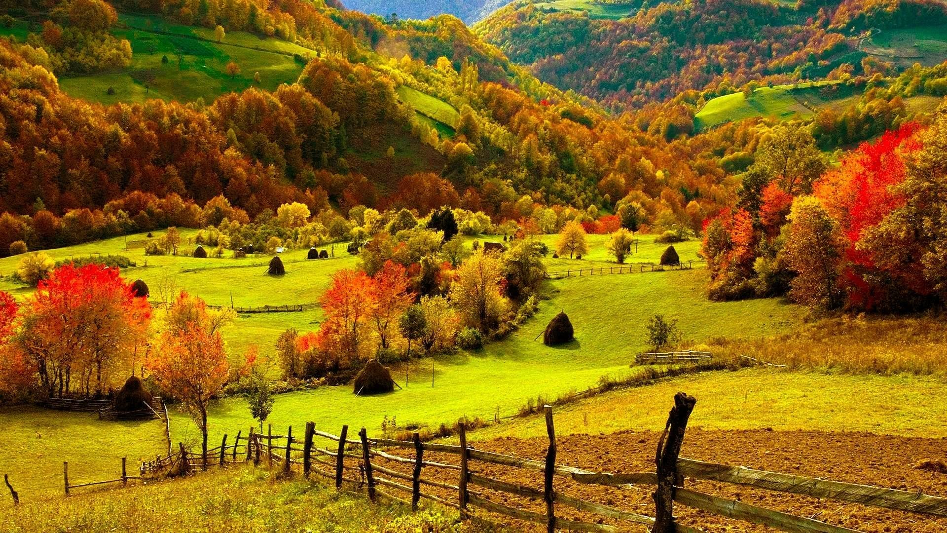 Pix For > Fall Scenery Desktop Backgrounds