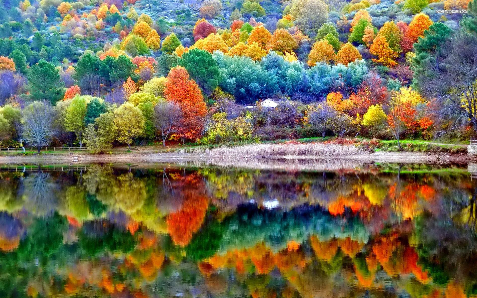 Fall Landscape Wallpaper | Beautiful autumn scenery wallpaper