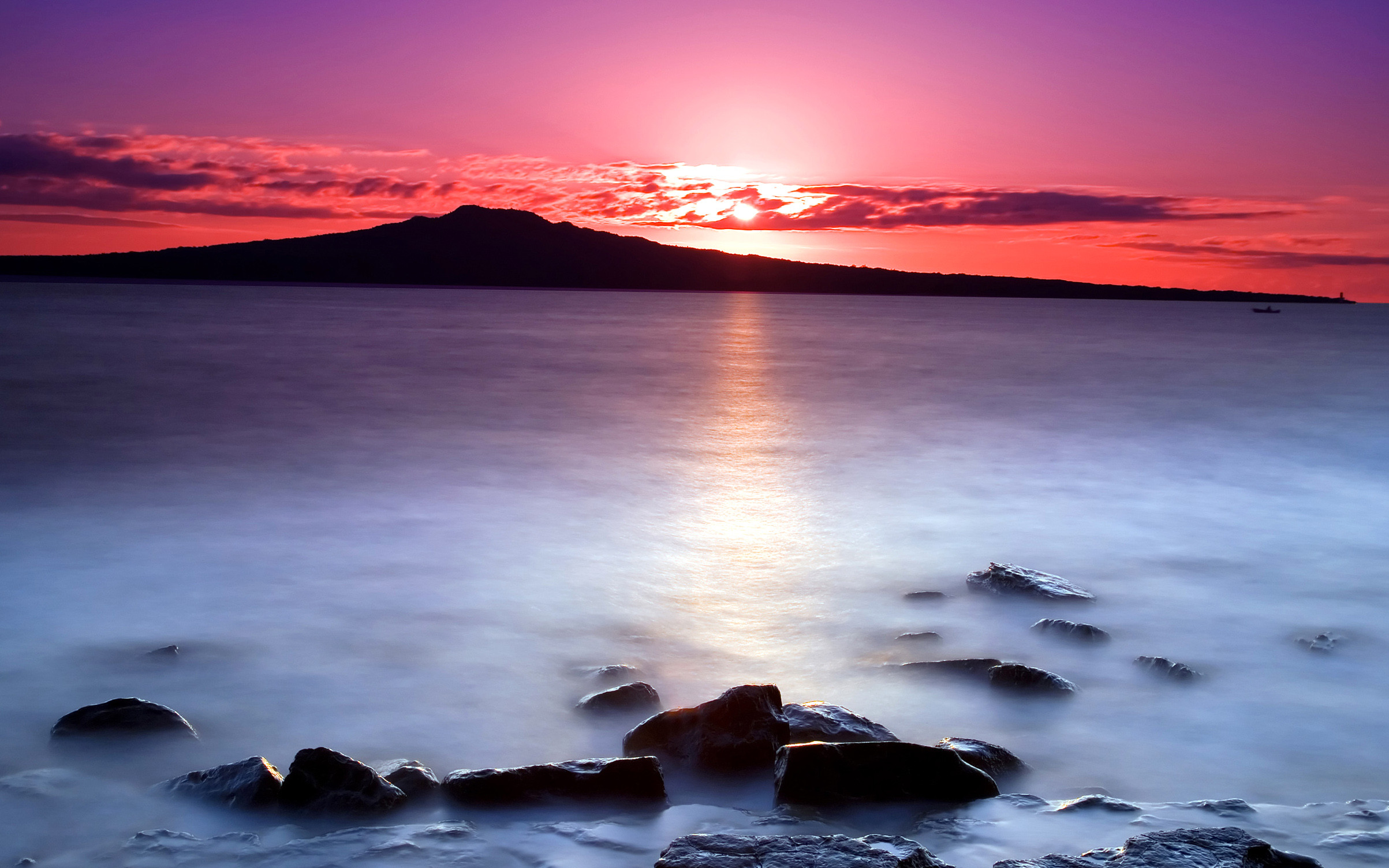 Pink, Morning, Cool Nature Wallpapers, Amazing Landscape, Plants,  Widescreen Nature Images
