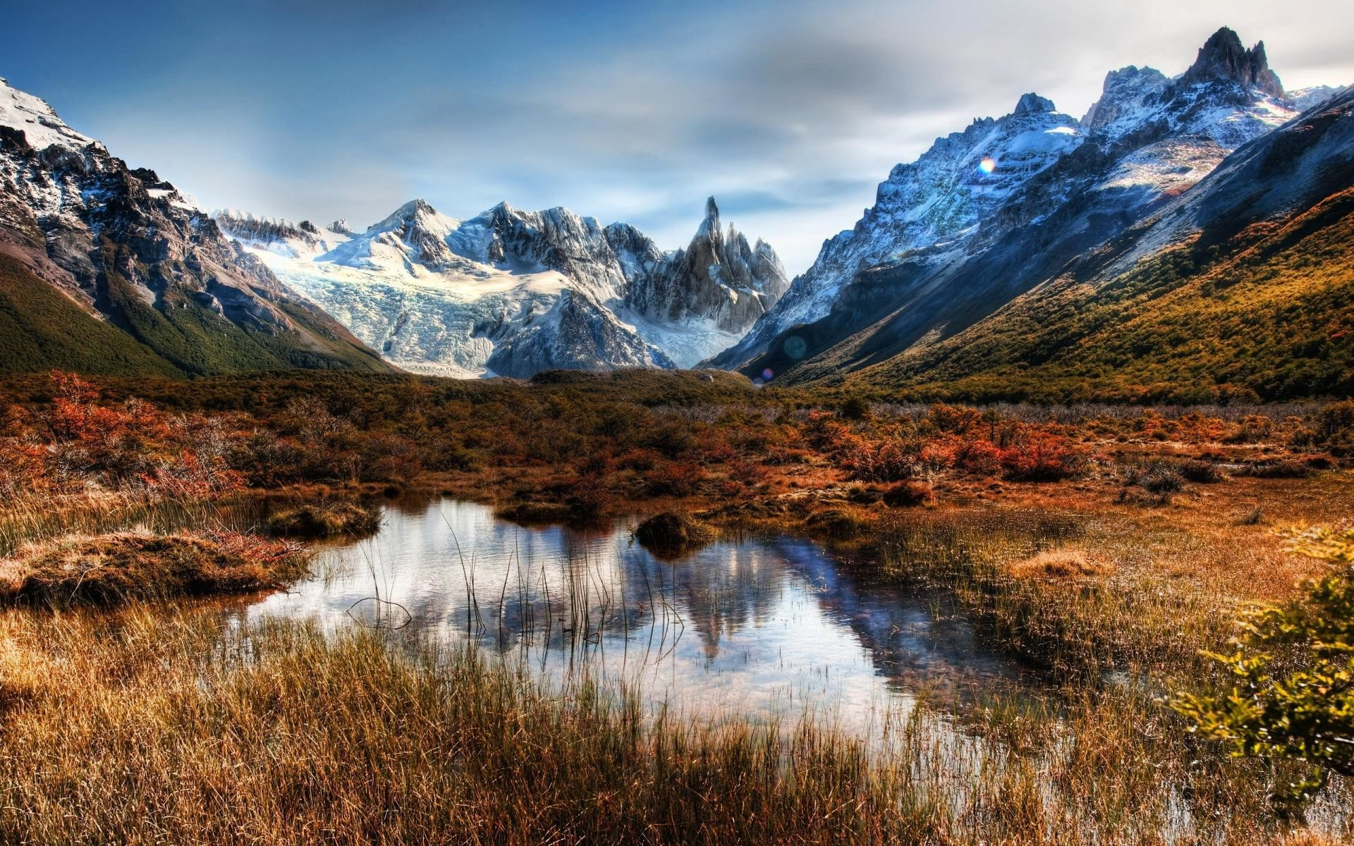 Wallpaper amazing landscape patagonia