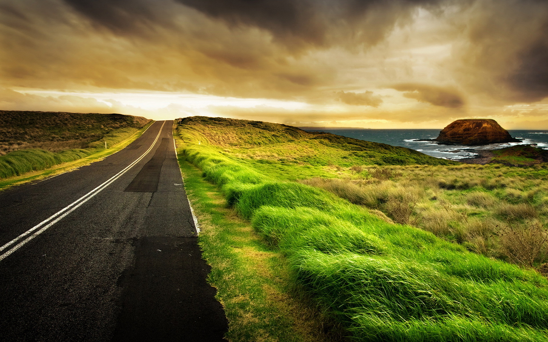Amazing Landscape and Horizon HD Wallpaper