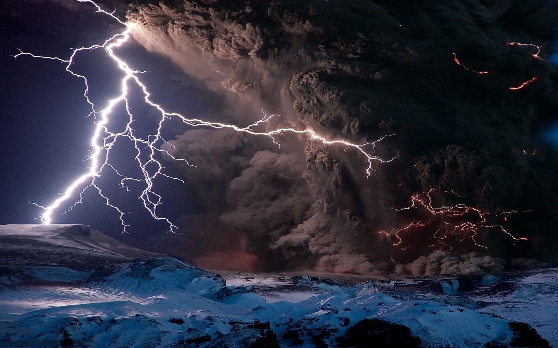Puyehue Volcano Lightning wallpapers HD free – 37181