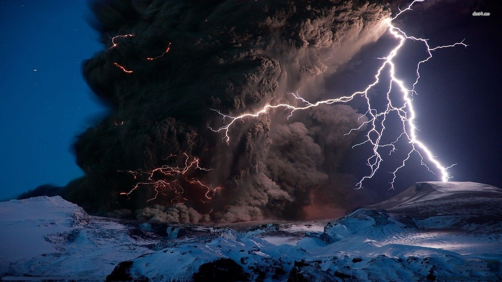 Volcano Lightning Wallpapers – HD Wallpapers Inn
