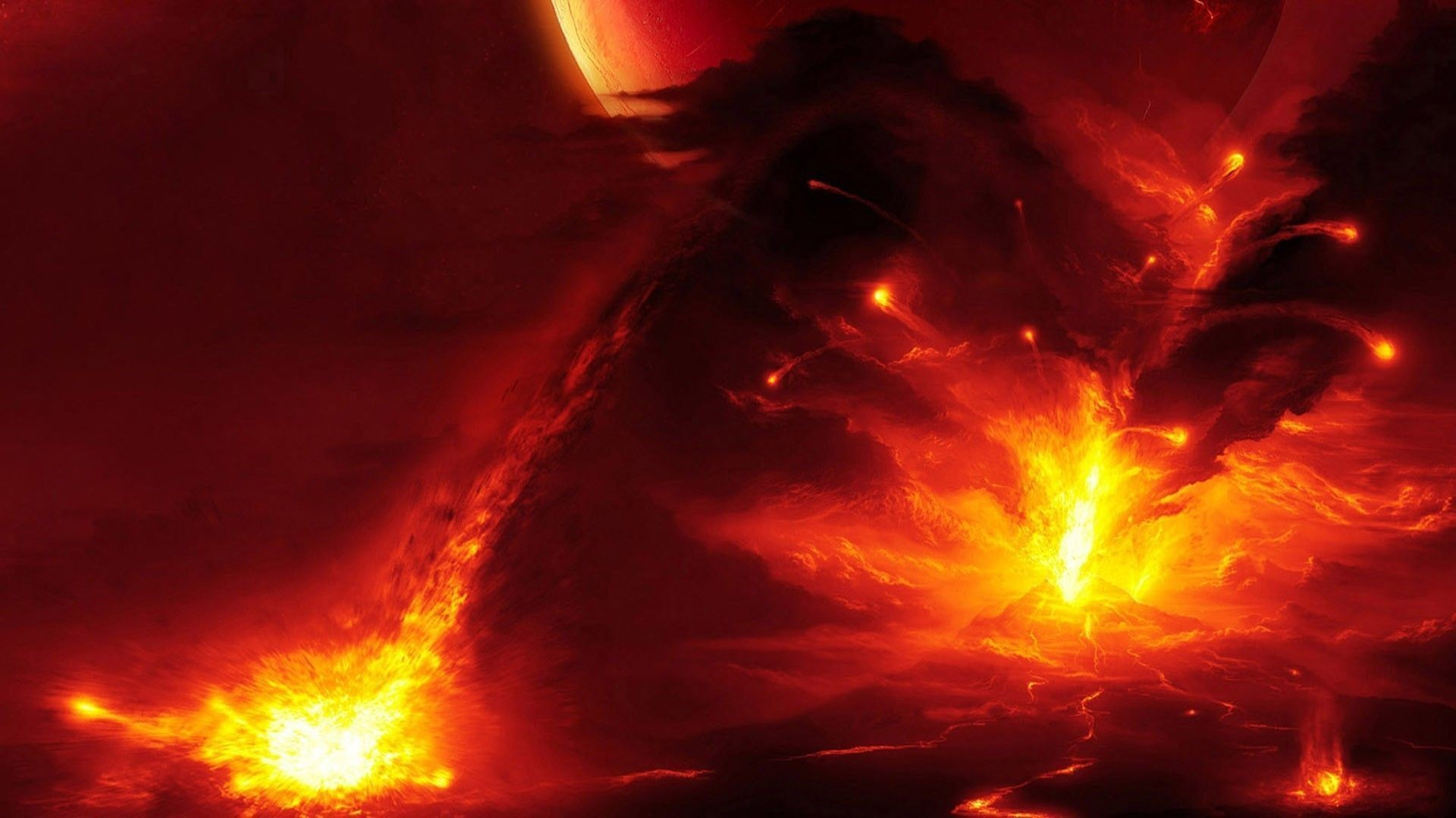 Volcanic Eruptions Landscape Wallpaper Photos #5143 Wallpaper .