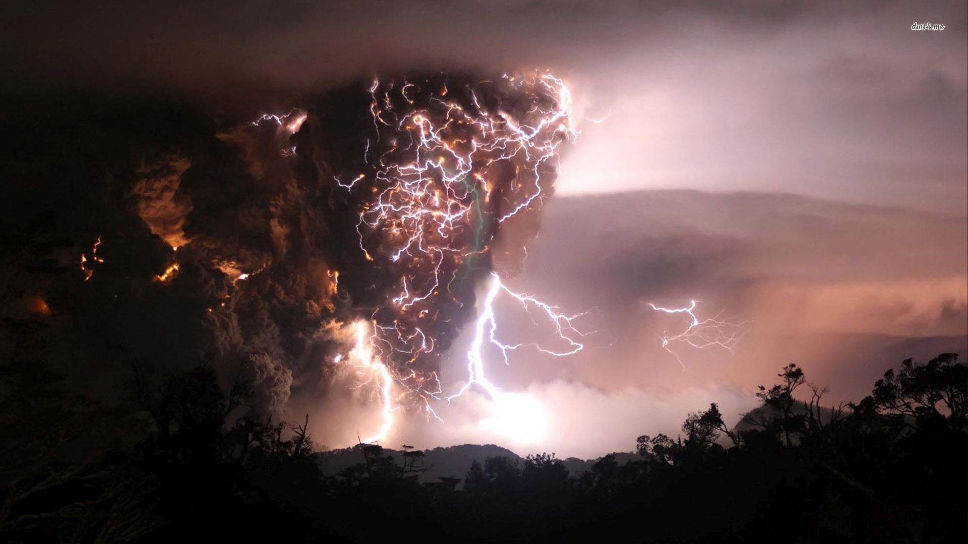 Dark Cloud Lightning wallpaper – Nature wallpapers – #29230