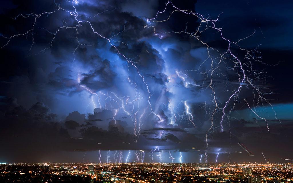 Lightning Storm Wallpapers HD.