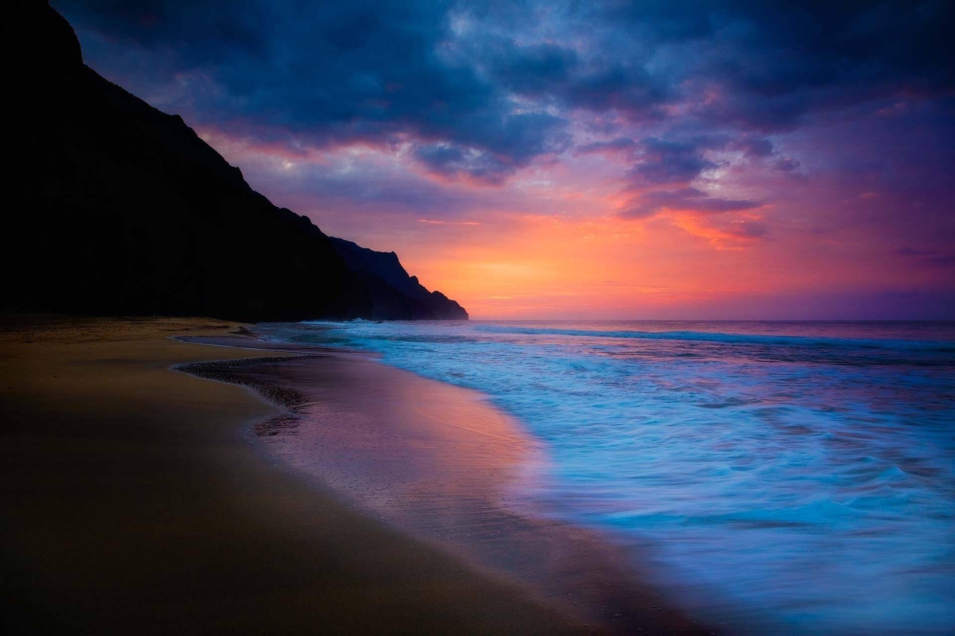 HD Movie Wallpaper | … Wallpaper sky waves beach desktop HD  Desktop Wallpapers