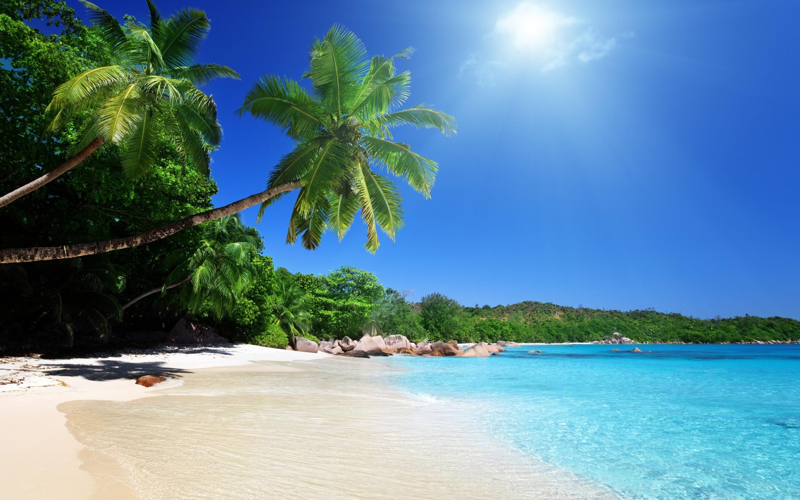 Sunny Beach Desktop Wallpaper #6960518