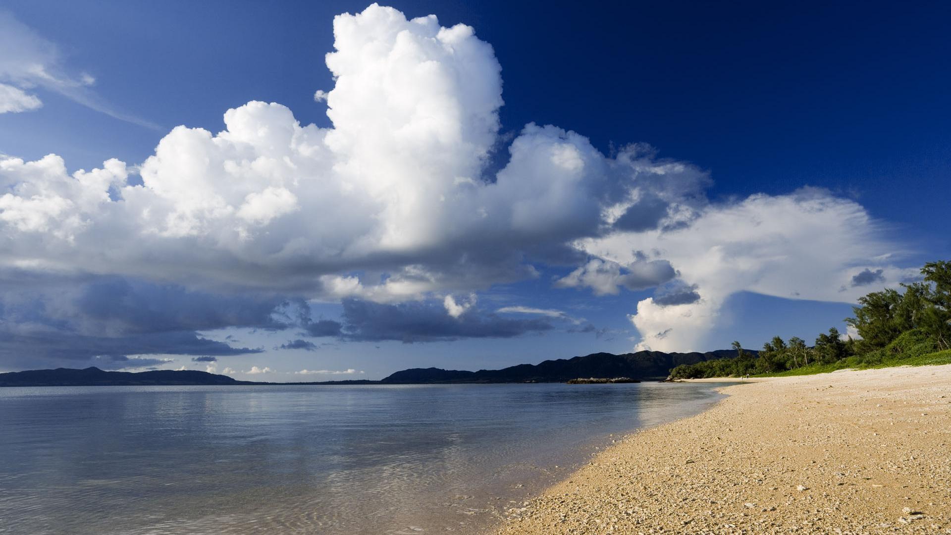 beautiful beach desktop backgrounds wide wallpapers:1280×800,1440×900,1680×1050  – hd backgrounds