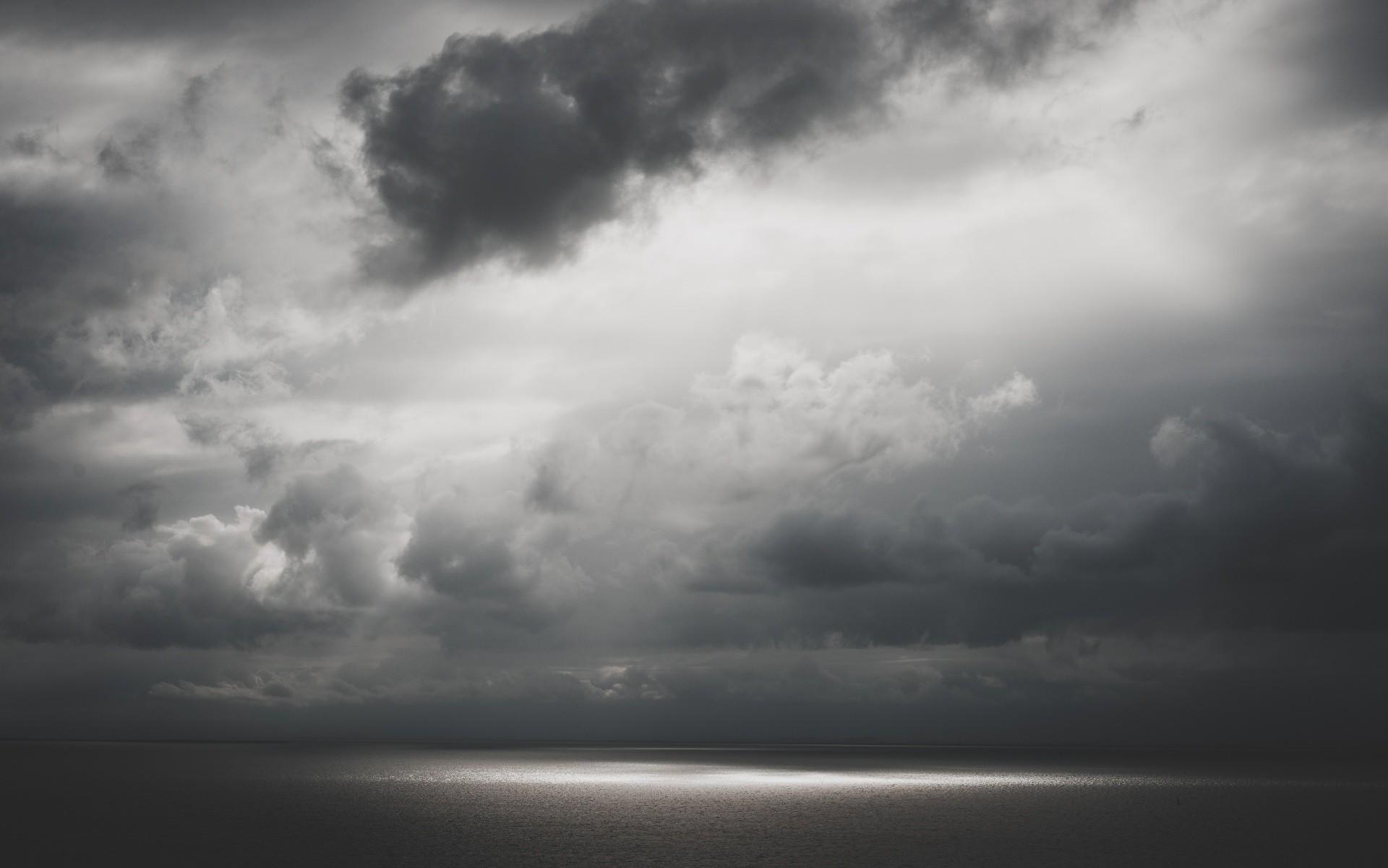 Gray Sky. Gray Sky Desktop Background