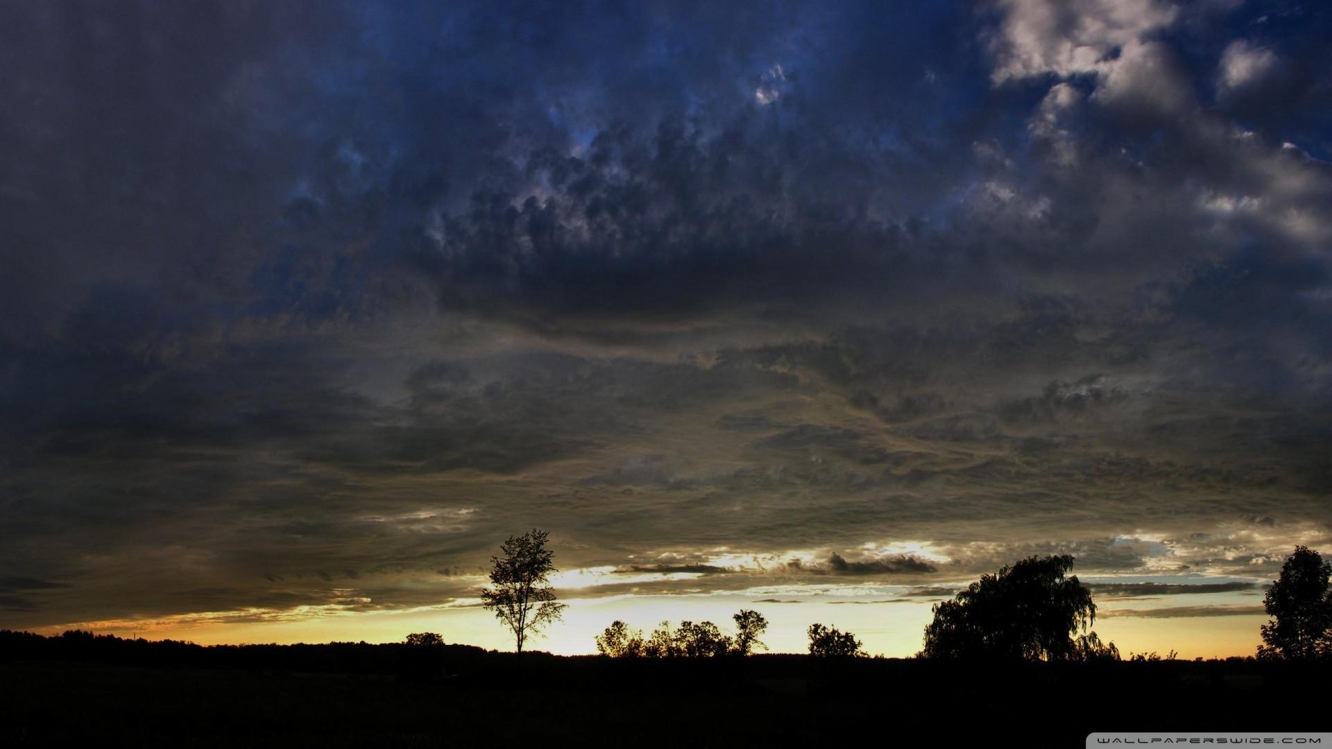 Dark Cloudy Sky Wallpaper Dark, Cloudy, Sky