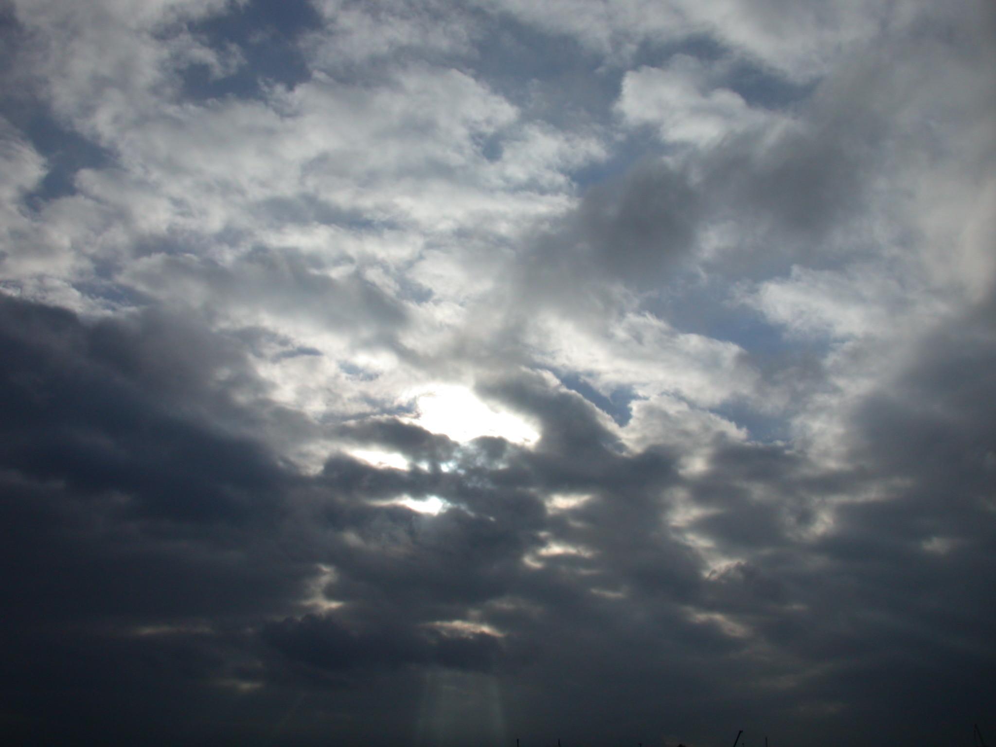 Gray Cloudy Sky