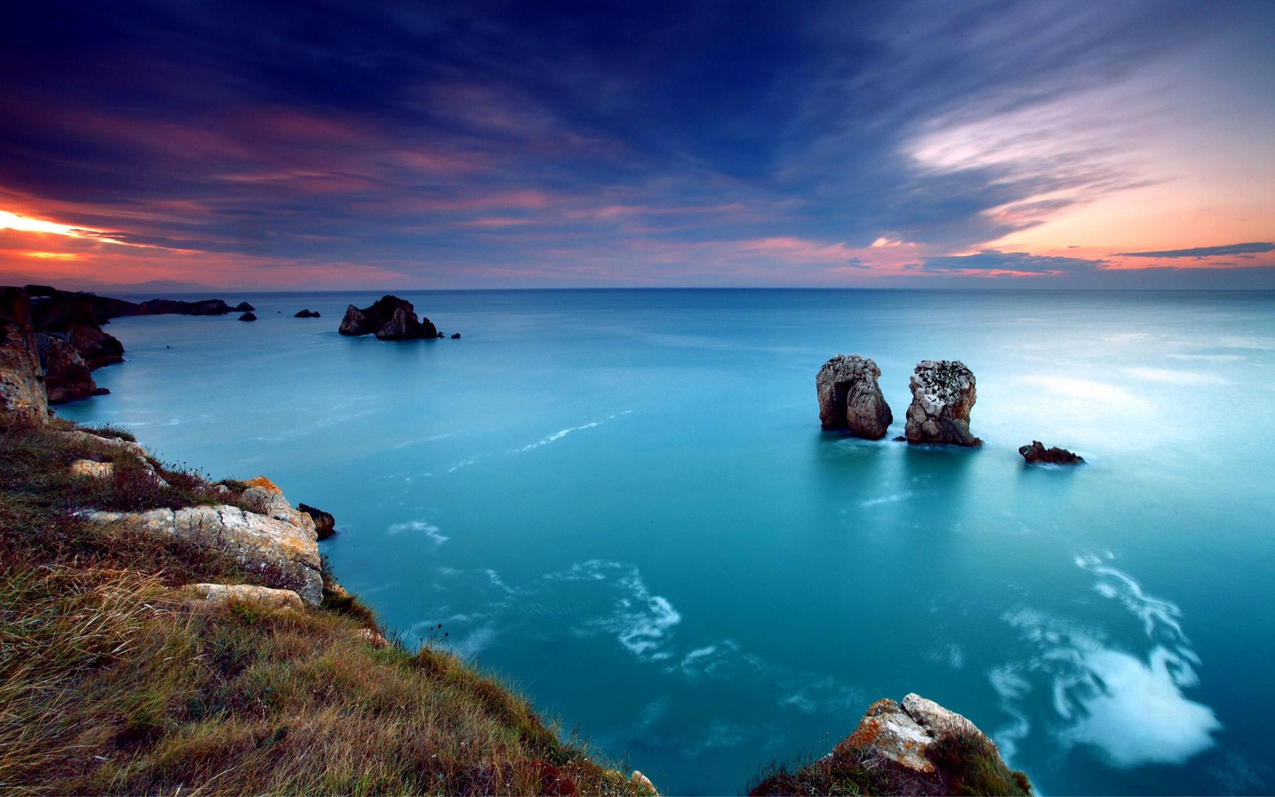 BUC45: Ocean Landscape Wallpaper px Download