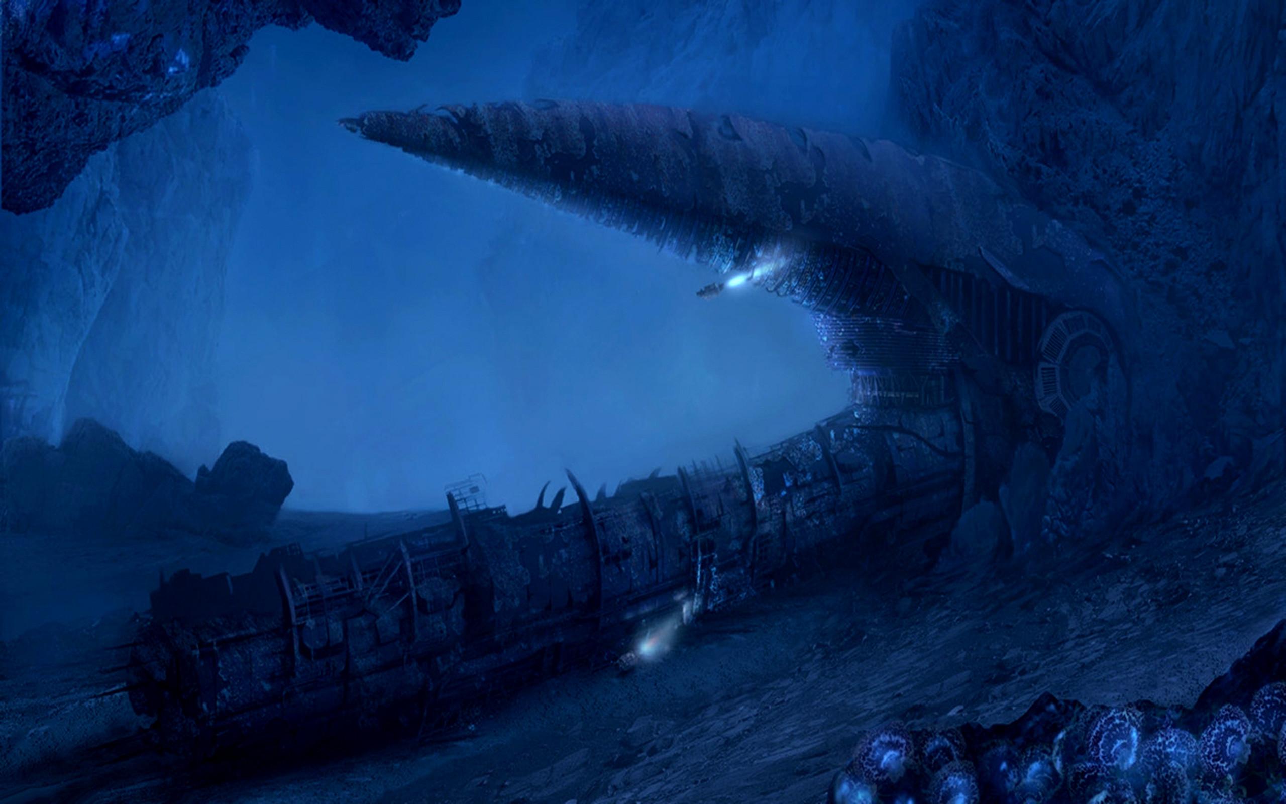 HD Wallpaper | Background ID:105346. Fantasy Ocean