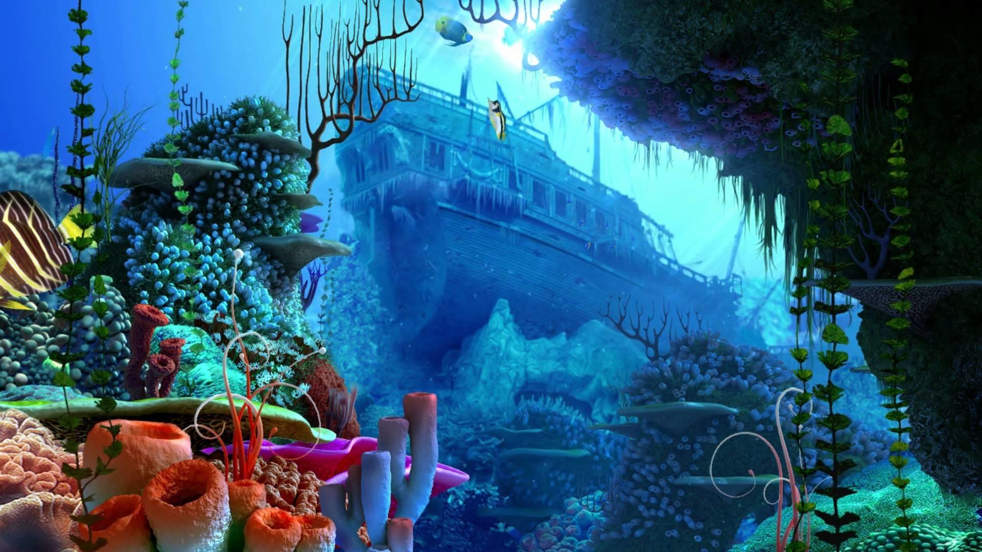 Ocean Dream – Eden by Ledovskiy Valeriy – Aquarium – 3D Screensaver – New  Age HD 1080p – YouTube