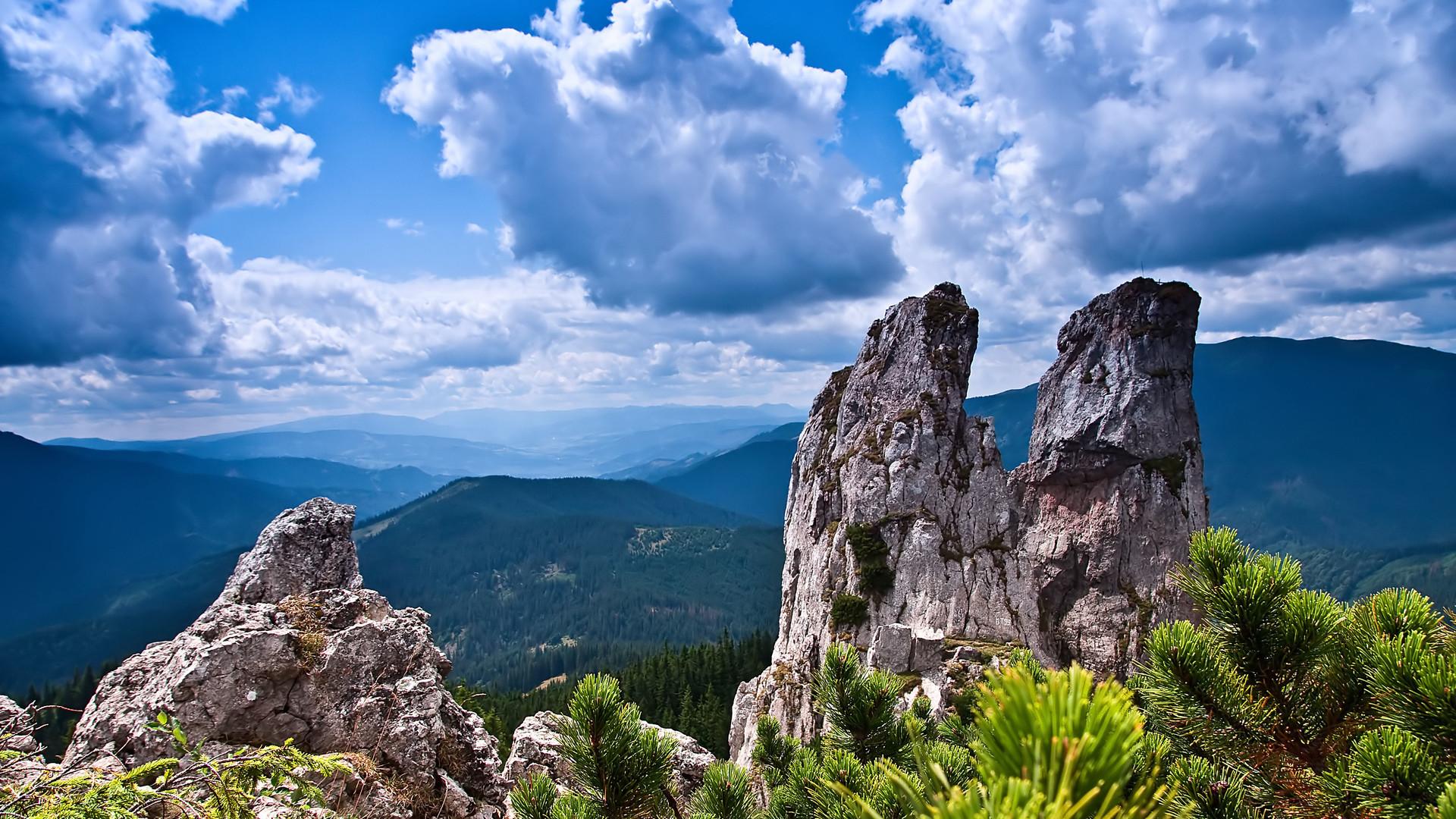 Landscape 4K Ultra HD Wallpaper | Mountain landscape clouds 4K Ultra HD  wallpaper | 4k-Wallpaper.Net | Божье творение | Pinterest | Mountain  landscape, …