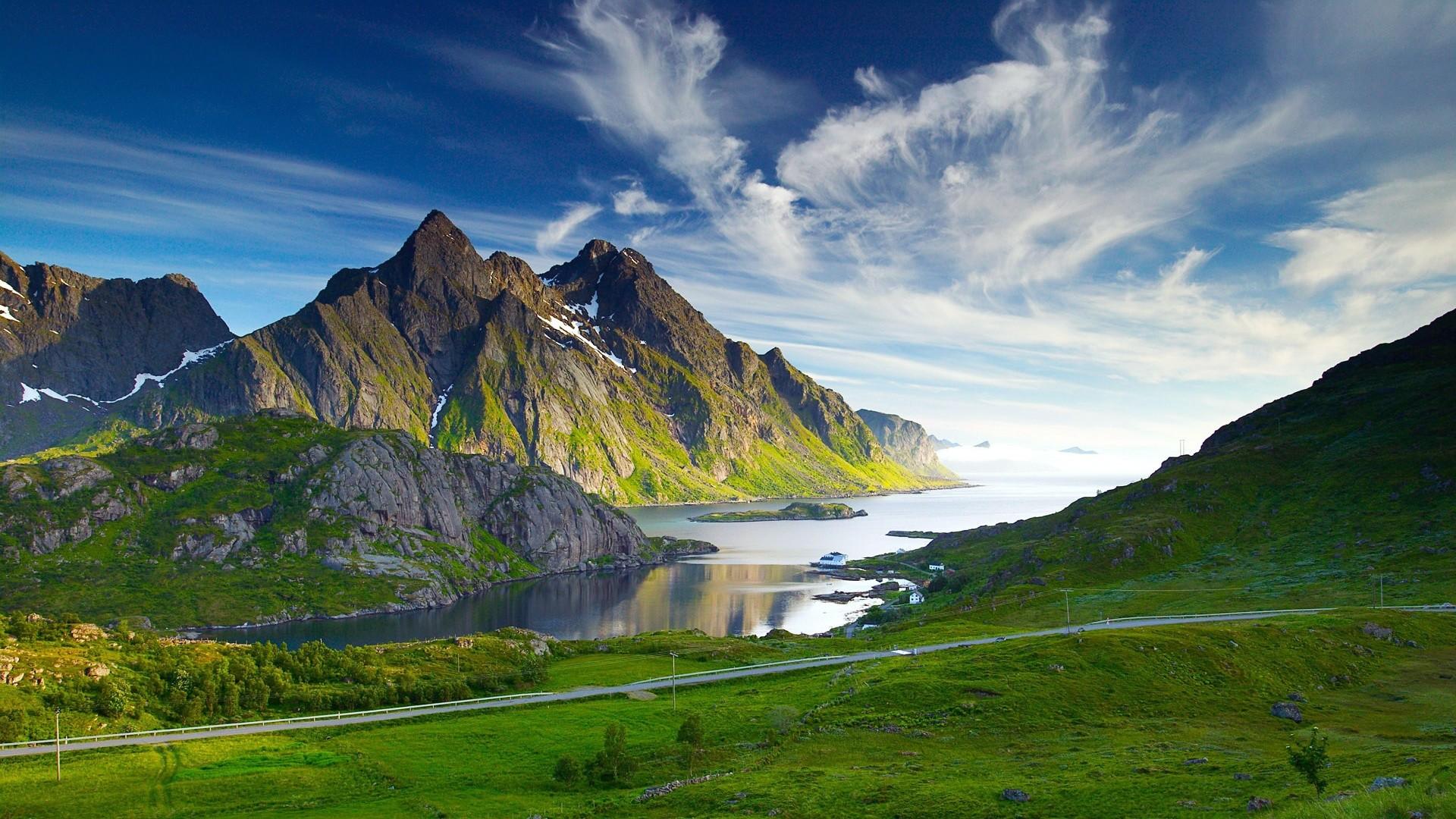 3D nature landscape photo of mountaint. 3D nature landscape photo of  mountains. 1080p HD …