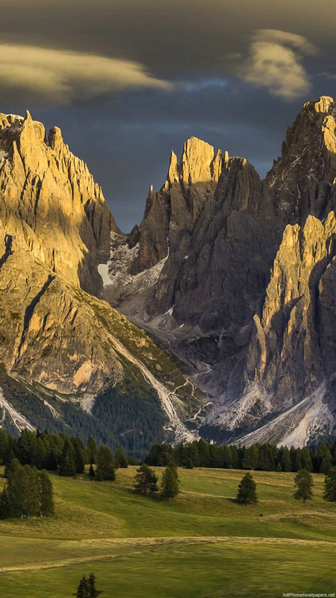 mountain nature italy iPhone 6 wallpapers HD – 6 Plus backgrounds