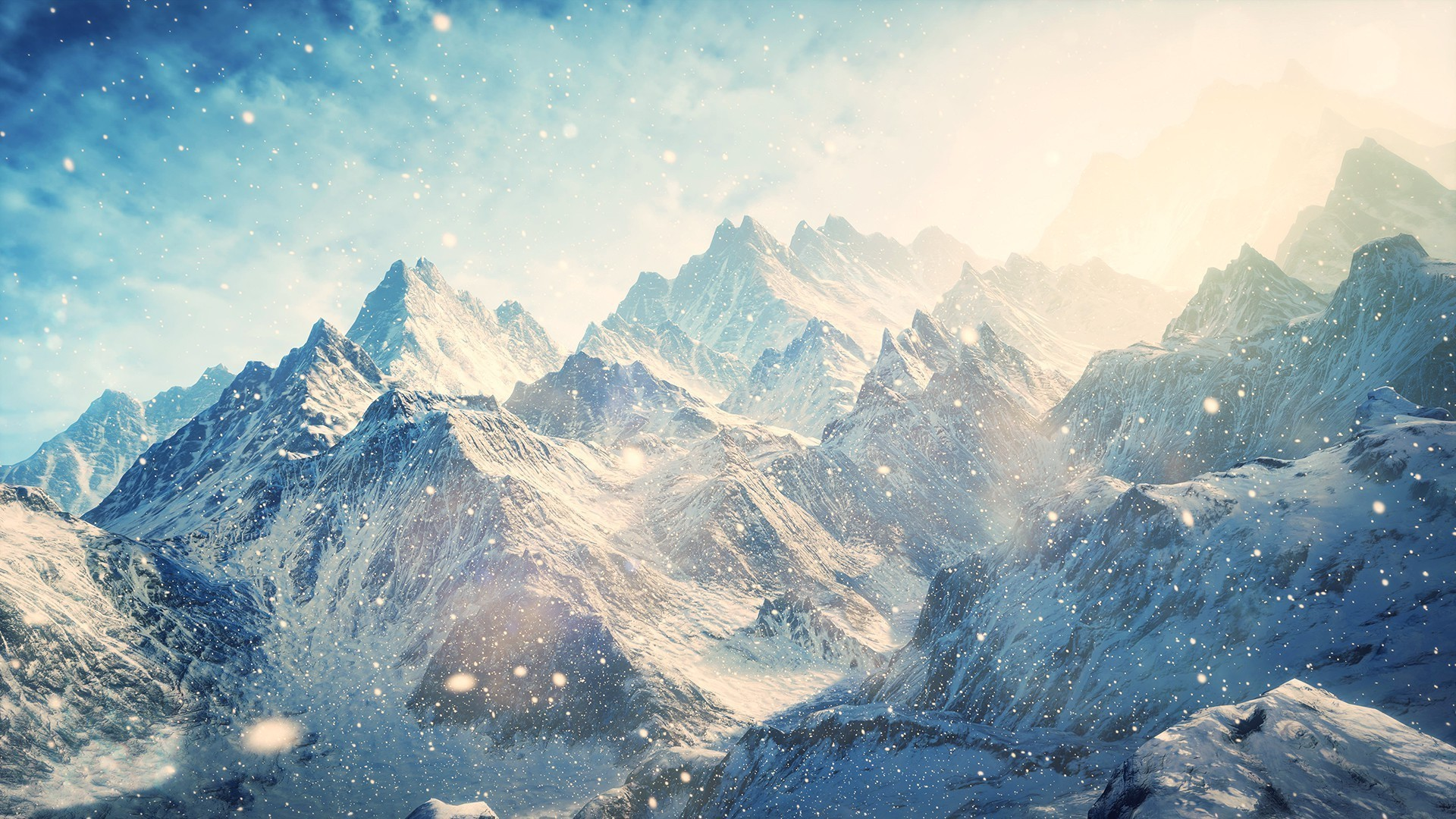 An awesome wallpaper of winter. A landscape wallpaper for your desktop .