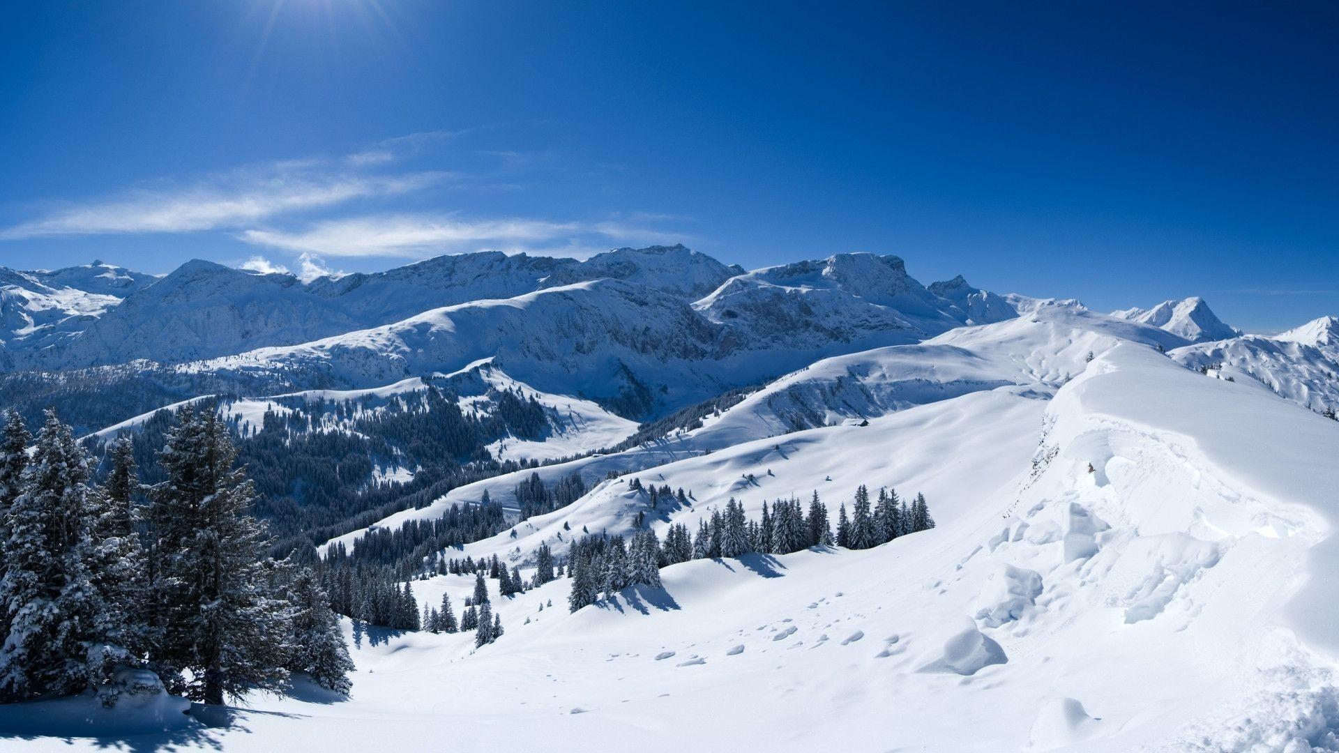 Snow Mountain Wallpapers Full Hd As Wallpaper HD