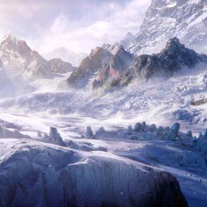 Snow Mountain Wallpaper HD
