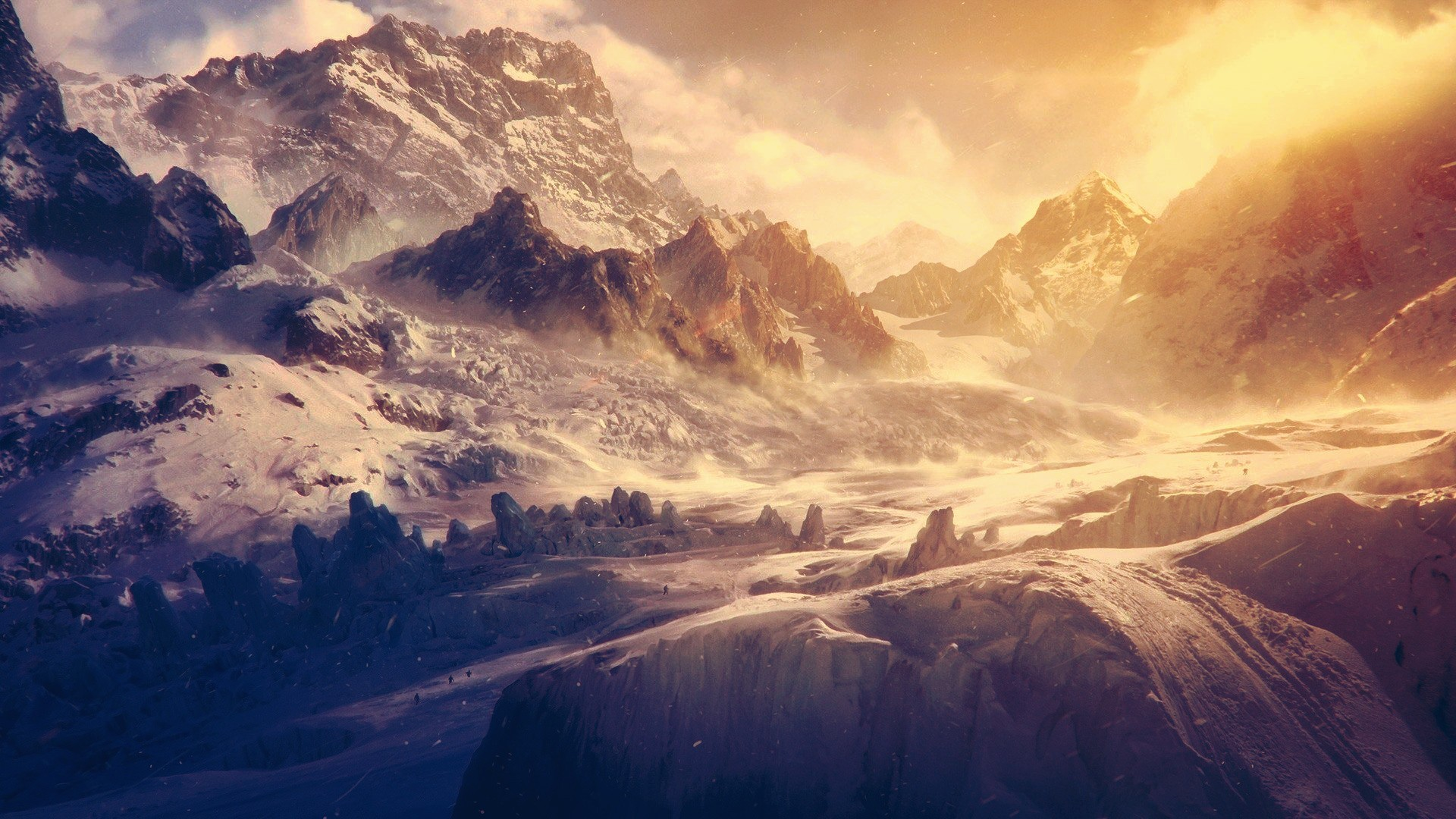 snow-mountains-landscapes-hd-wallpapers.jpg (1920×1080)