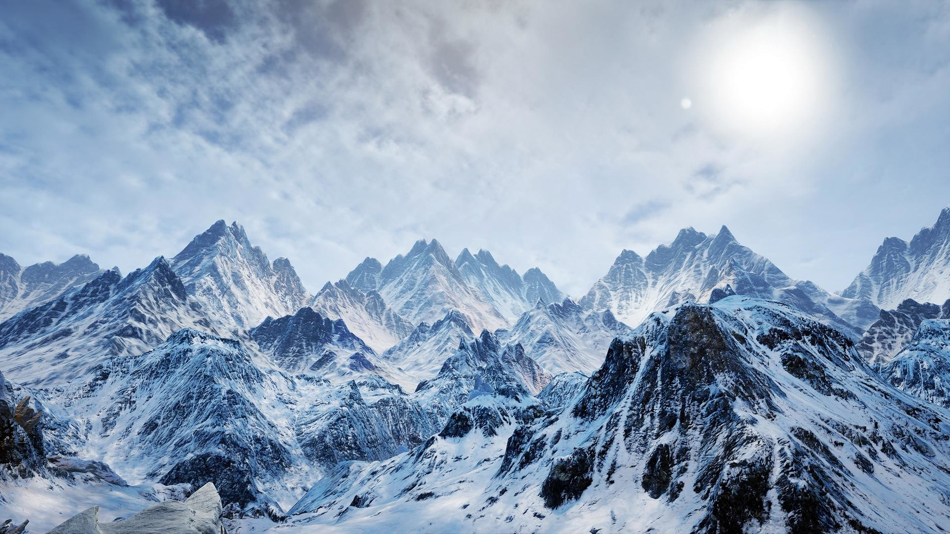 Ice and Snow Mountains Theme Ice and Snow Mountains Background Ice and Snow  Mountains Wallpaper