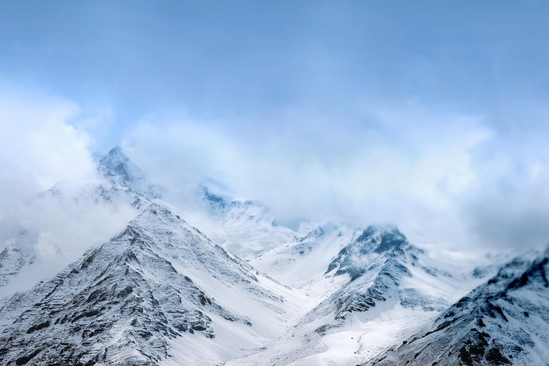 Snow mountains, HD. Original Resolution: 2880×1920