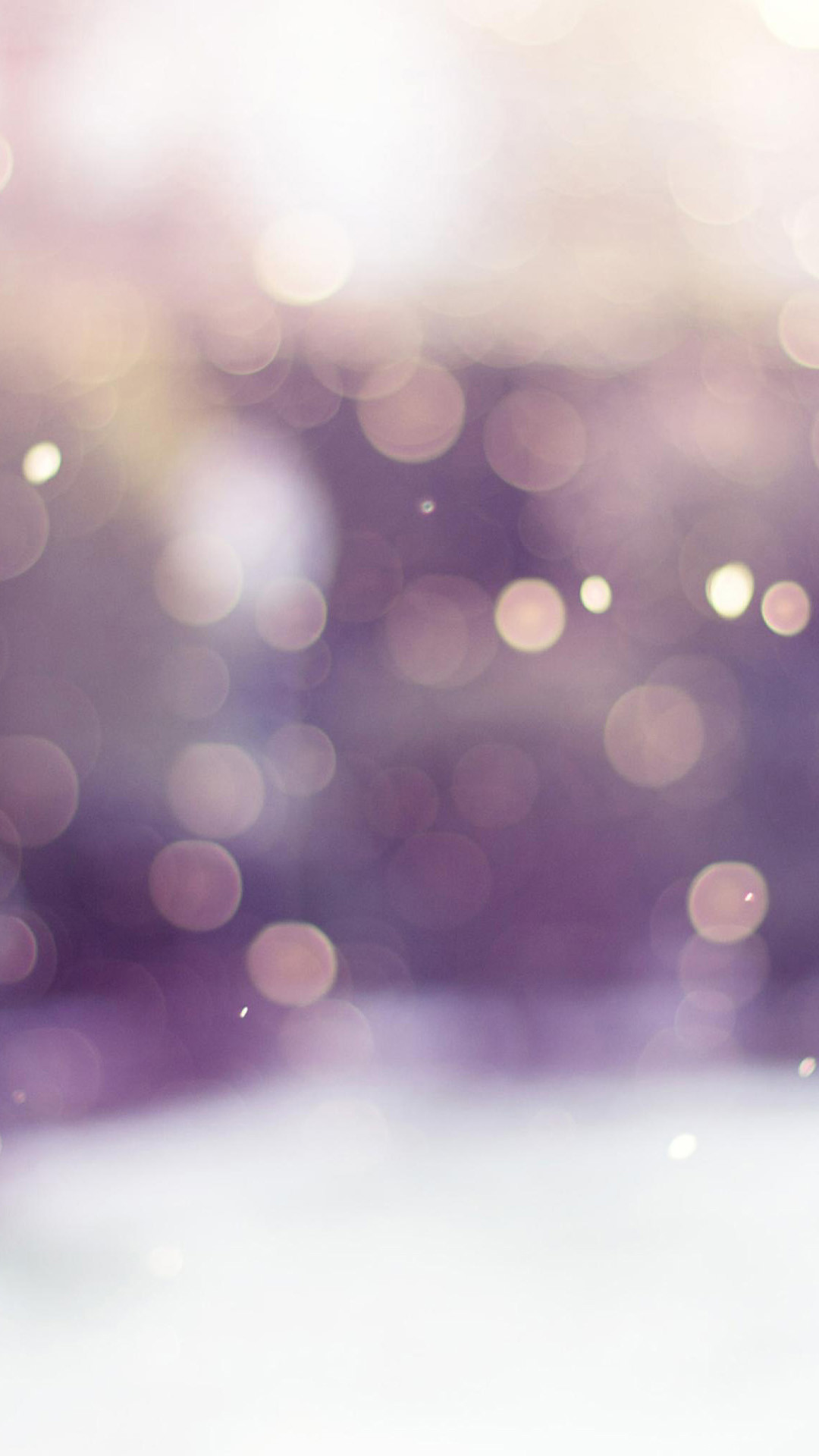 … winter snow bokeh android wallpaper free download …