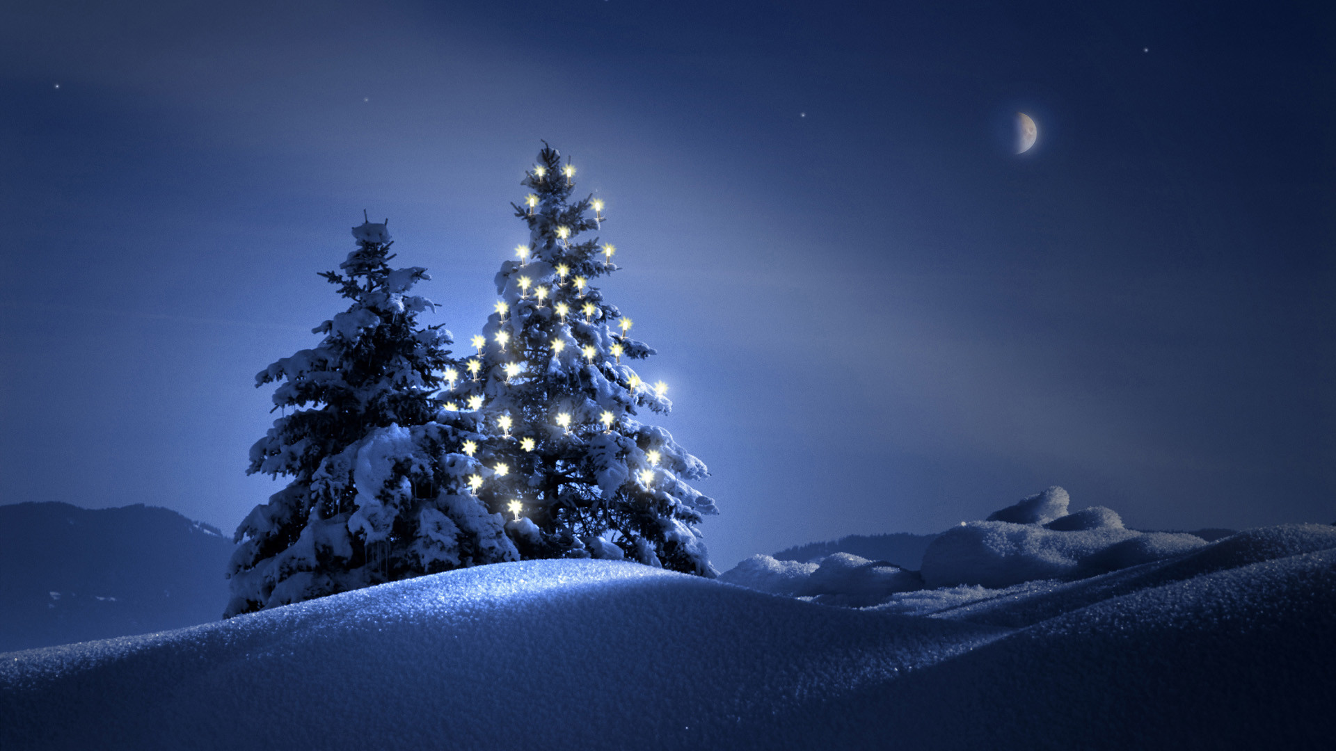 Moon Scenery Backgrounds | … the Heart Up, Very Impressive Scene – HD