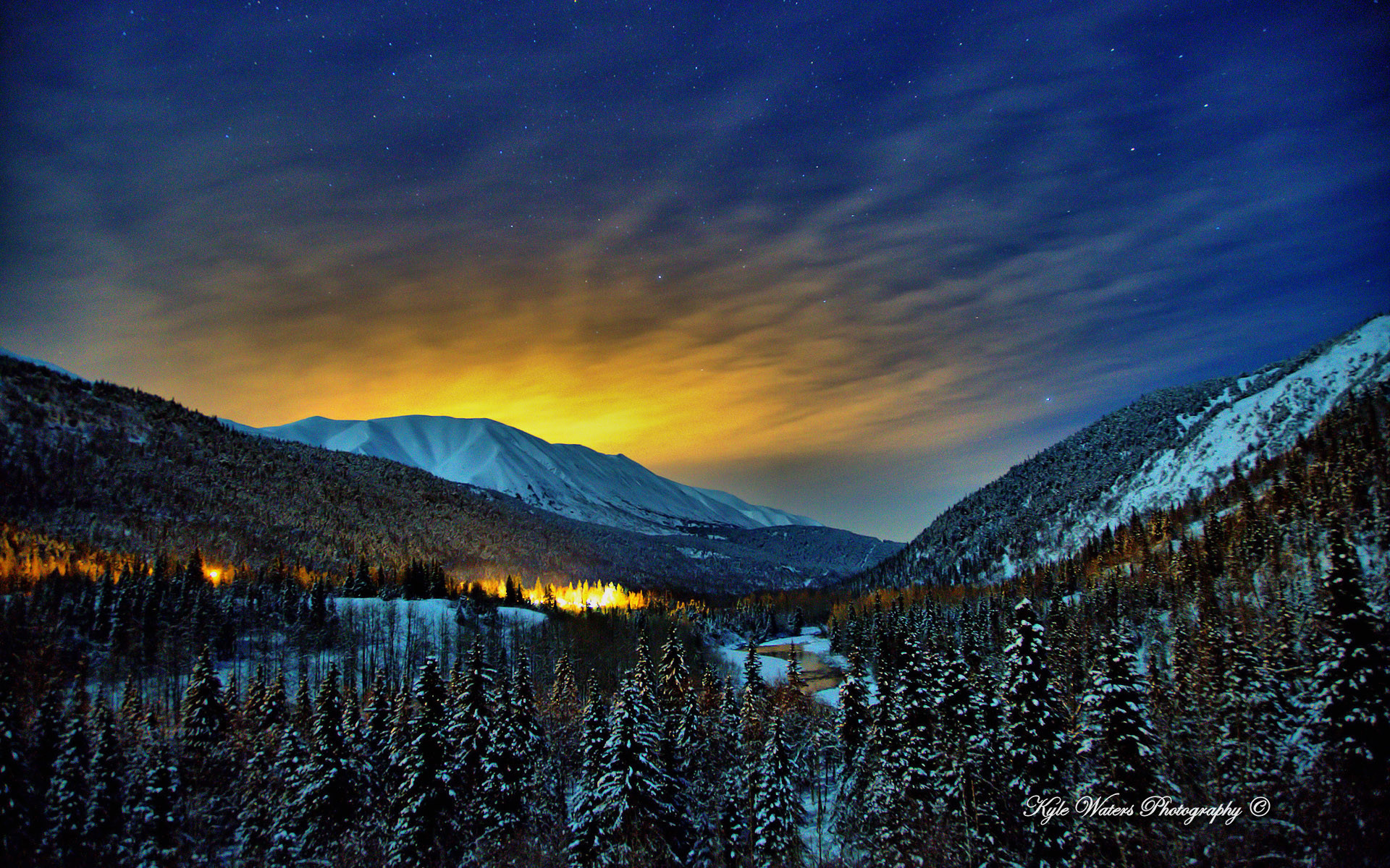 Alaska Winter Nights Wallpapers | HD Wallpapers