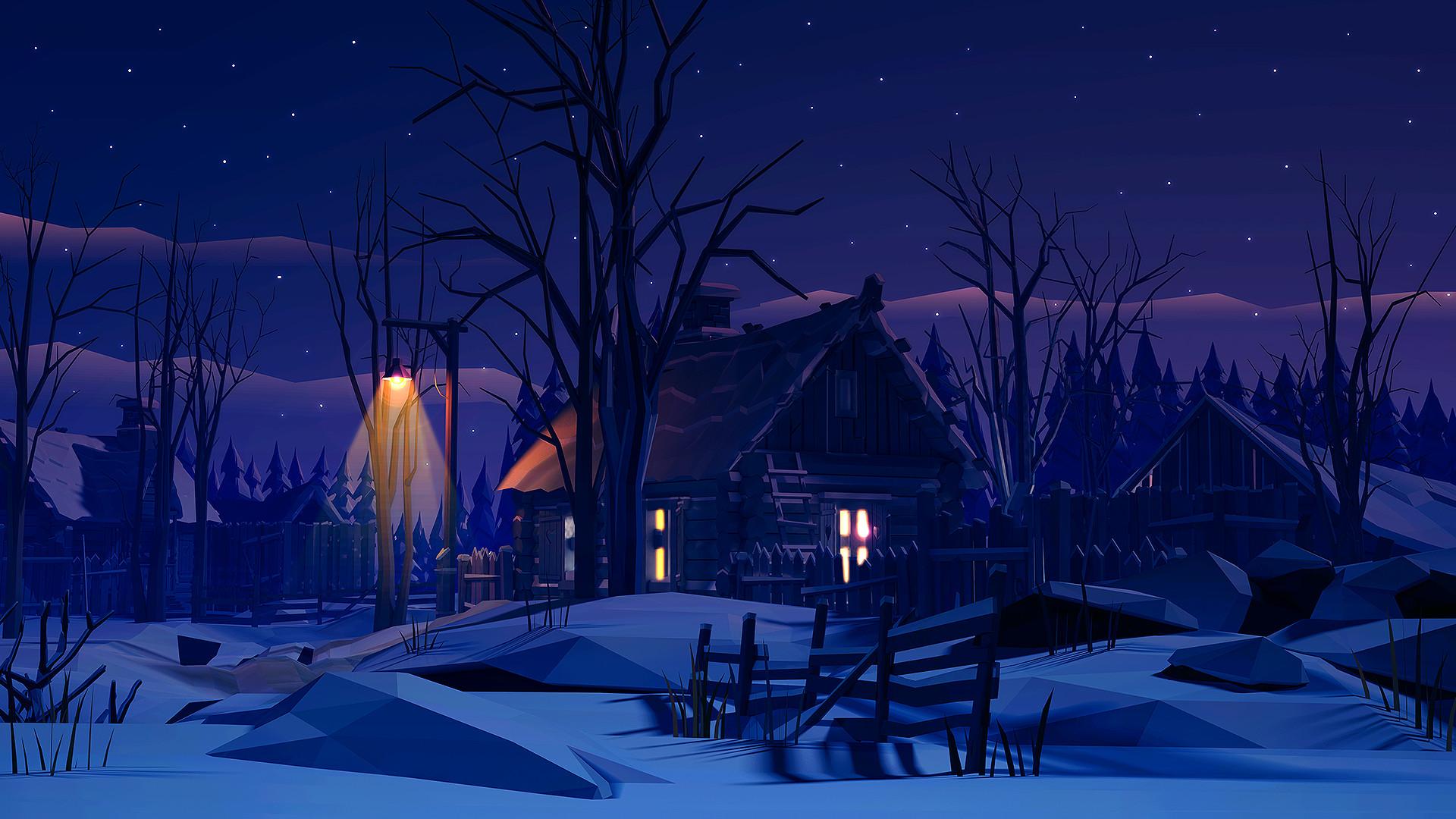 Winter night by prusakov Winter night by prusakov
