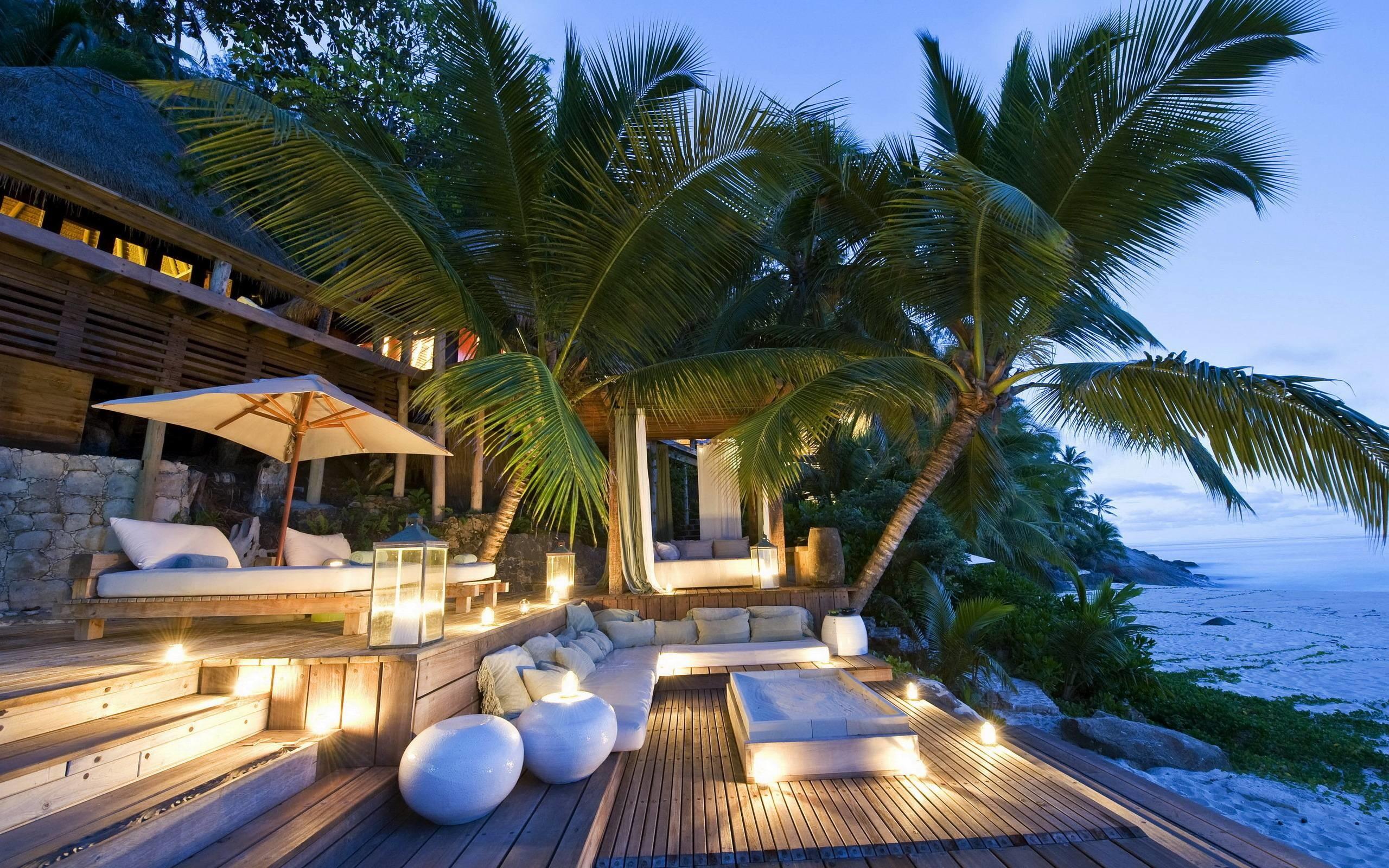 Fabulous Beach House widescreen wallpaper   Wide-