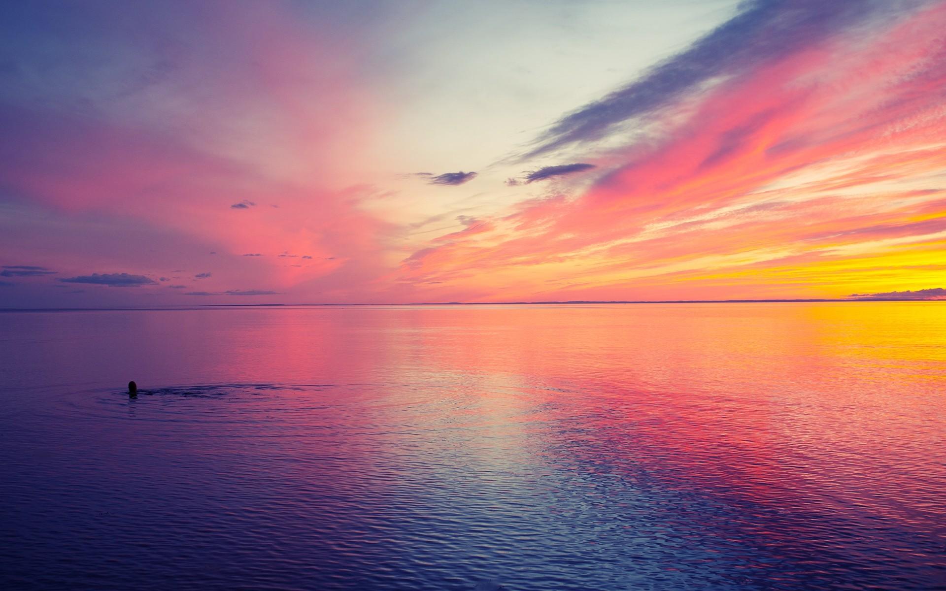 Beautiful Sunset at Sea wallpapers | Beautiful Sunset at Sea stock .