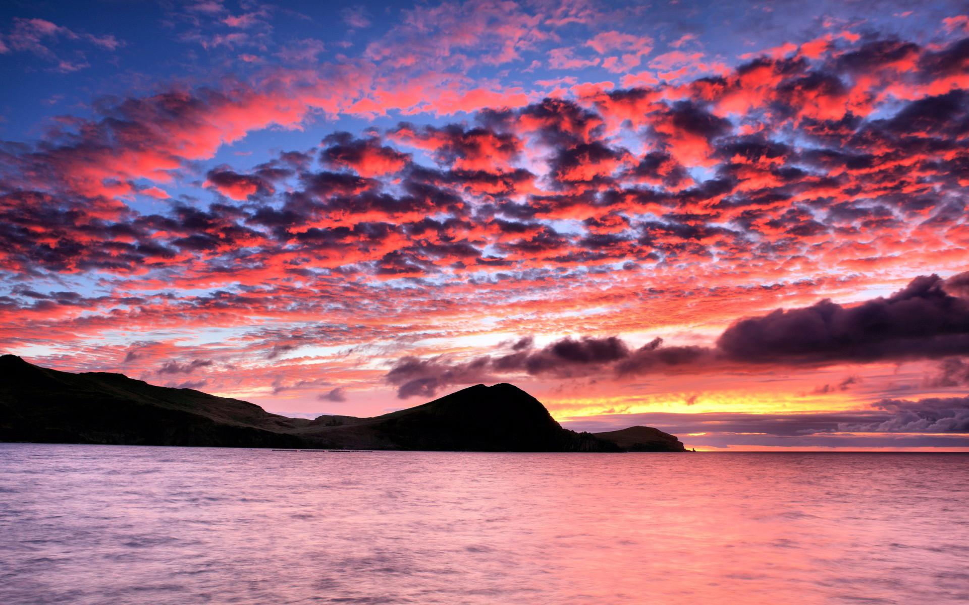 Beautiful Pink Sunset