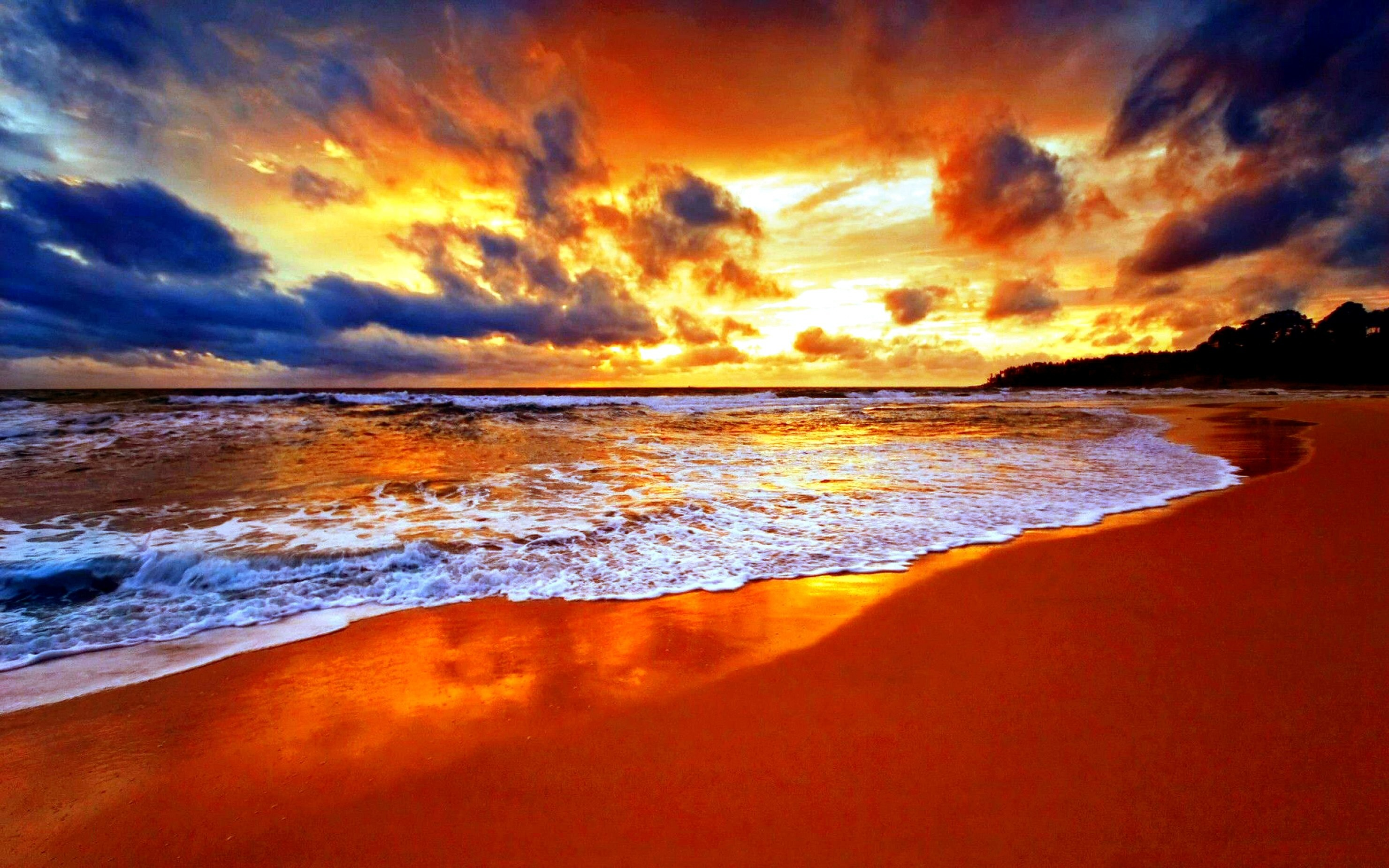 … pretty sunset beach widescreen wallpaper beach wallpaper better …